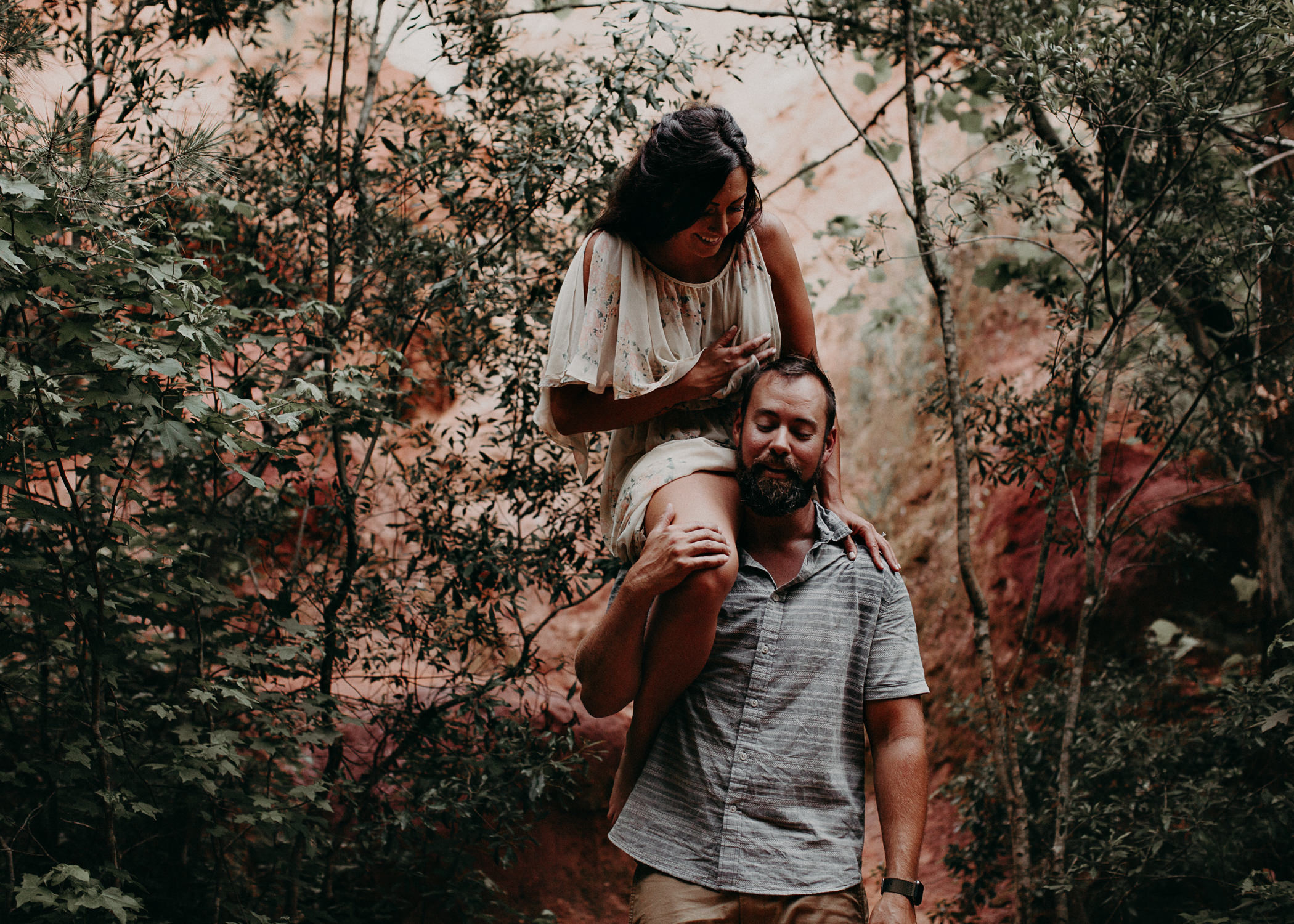 41- providence canyon georgia -engagement-session-atlanta-wedding-photographer, Aline Marin Photography.jpg