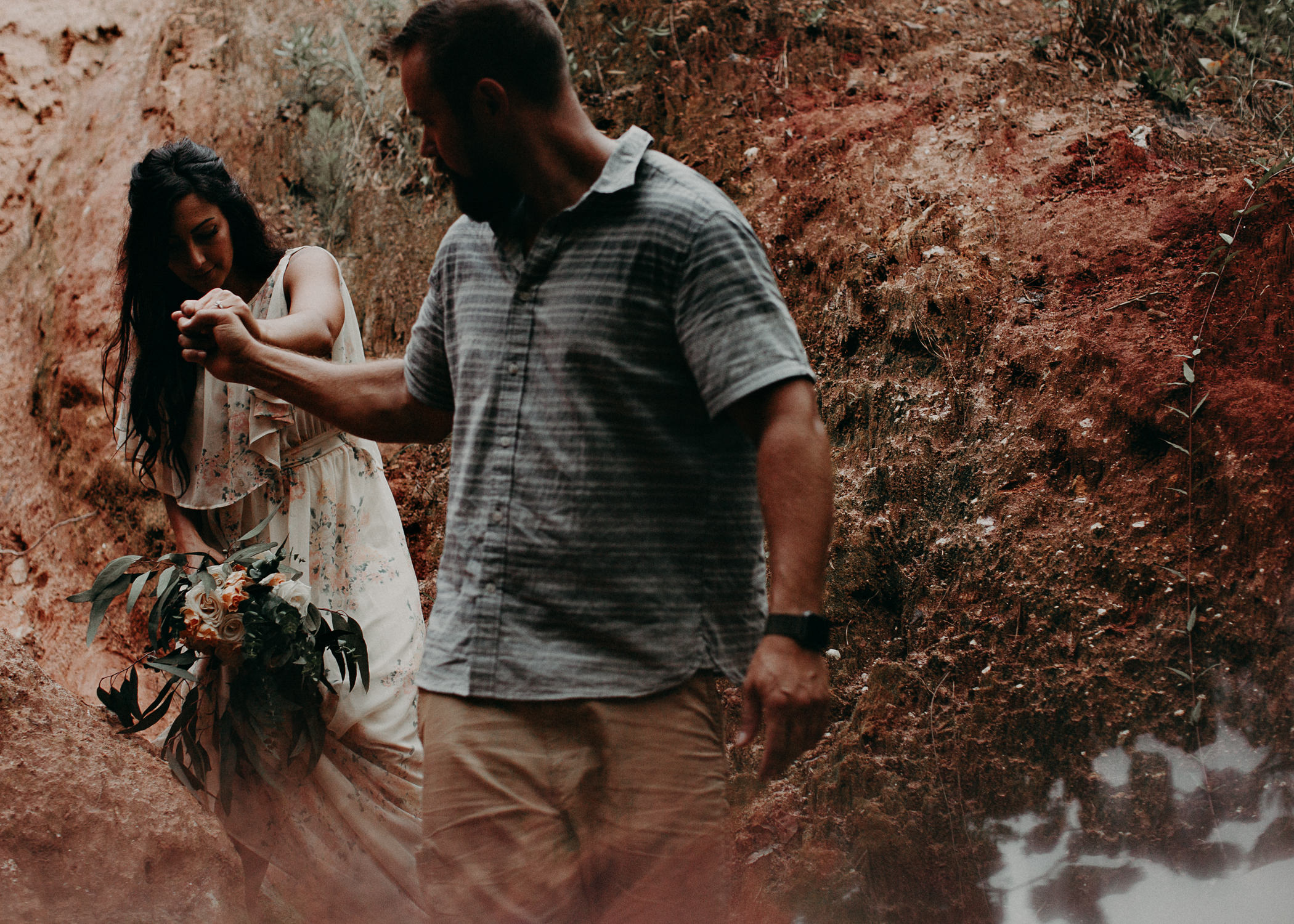 47- providence canyon georgia -engagement-session-atlanta-wedding-photographer, Aline Marin Photography.jpg