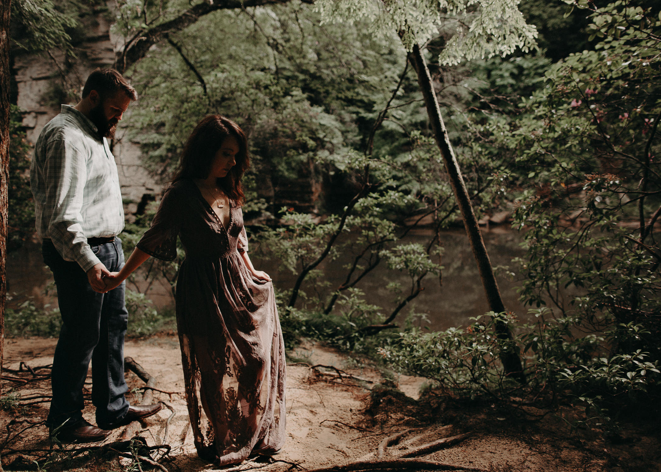 17 - Fall Creek Falls State Park -engagement-session-atlanta-wedding-photographer, Aline Marin Photography.jpg