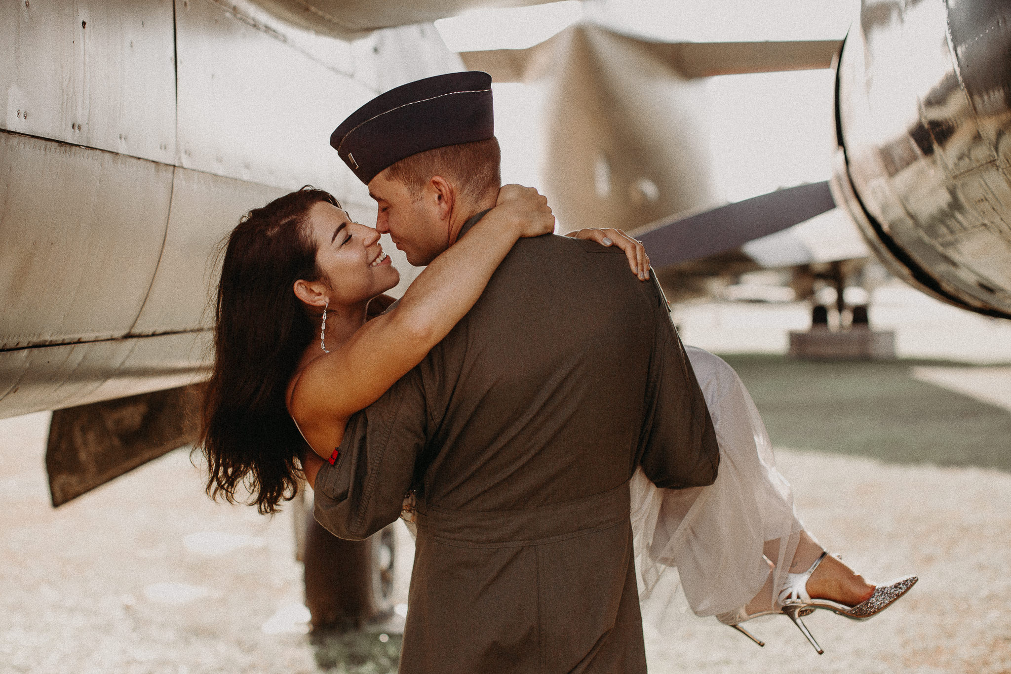 Natalia & Derek - Museum of aviation engagement shoot - preview - Atlanta Photographer_-19.JPG