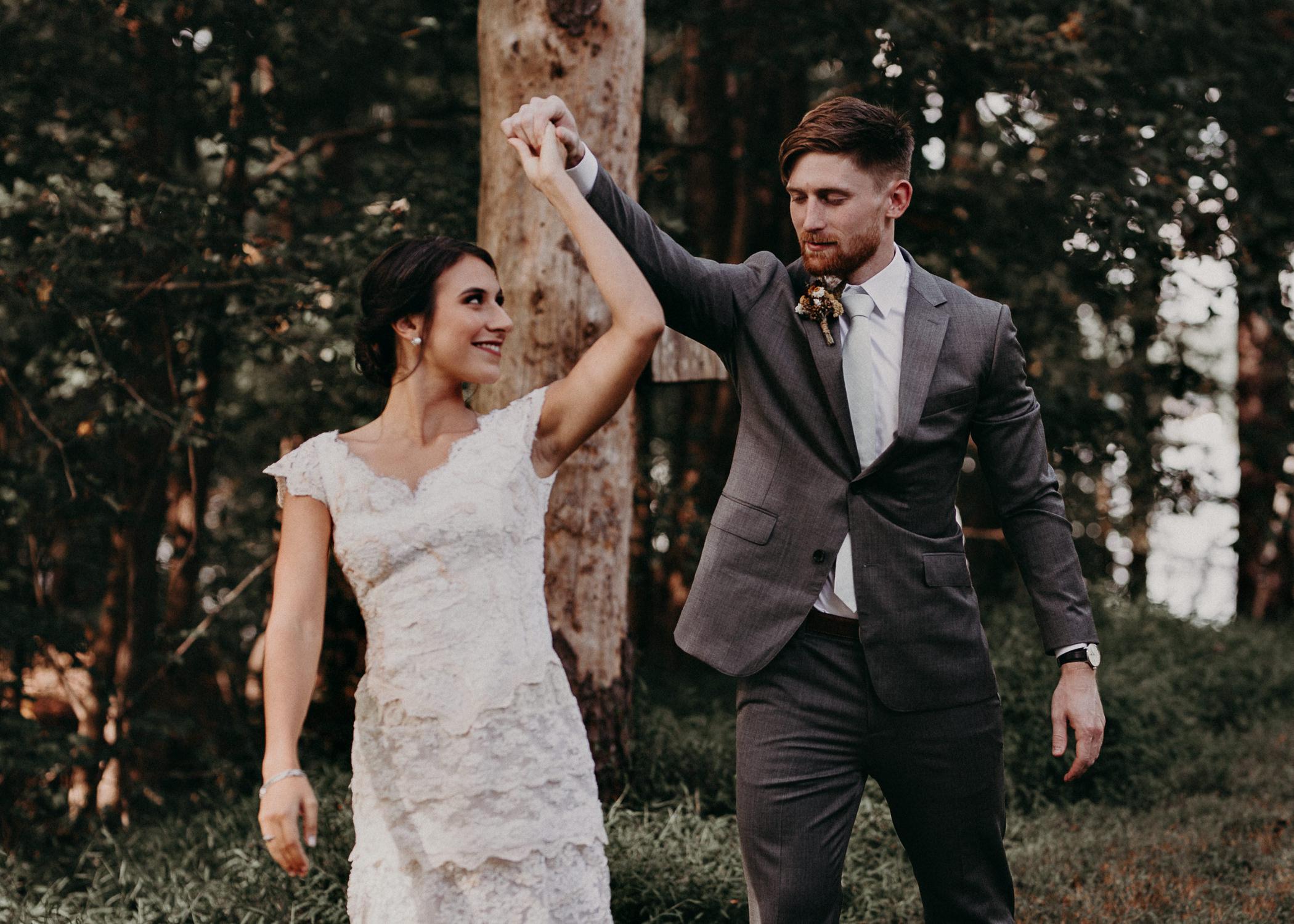 42 Bride & Groom first look before the ceremony on wedding day - Atlanta Wedding Photographer .jpg