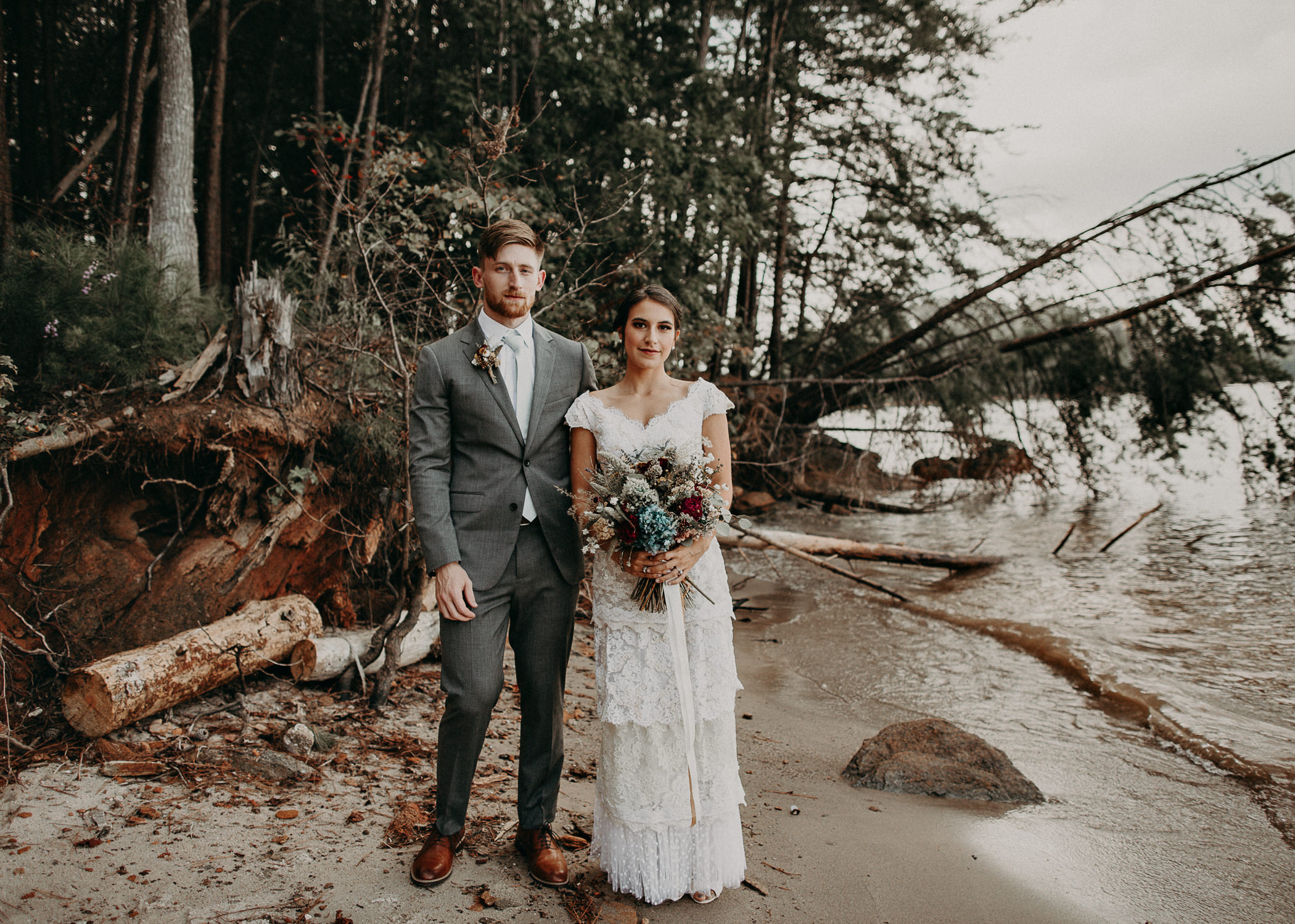 57 Bride & Groom Portraits before the ceremony on wedding day - Atlanta Wedding Photographer .jpg