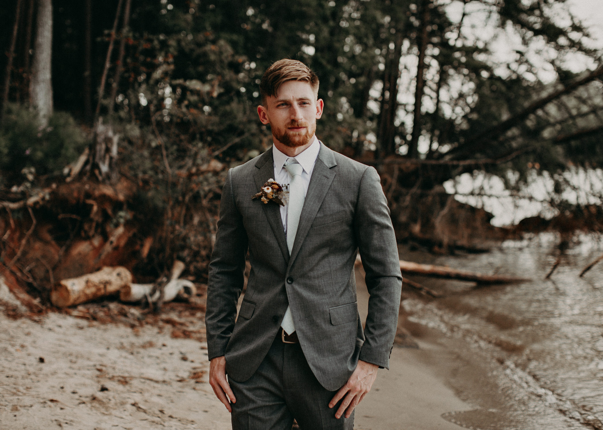 68  Bride & Groom Portraits before the ceremony on wedding day - Atlanta Wedding Photographer .jpg