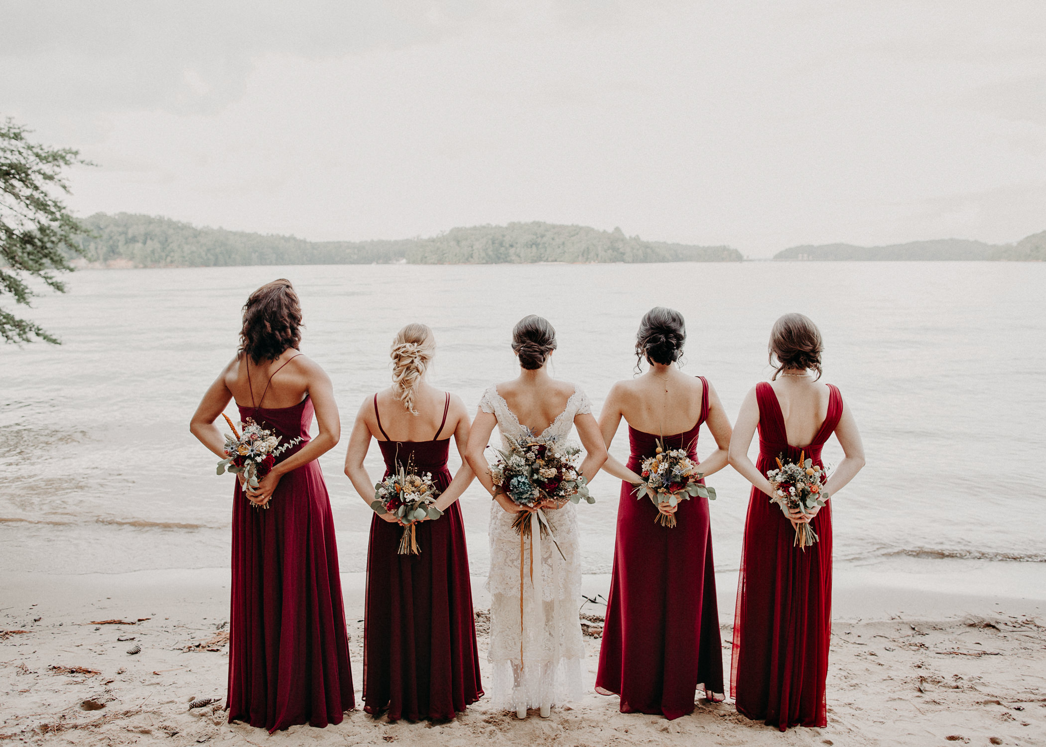 88 Bridal Party and Bride & Groom Portraits before the ceremony on wedding day - Atlanta Wedding Photographer .jpg