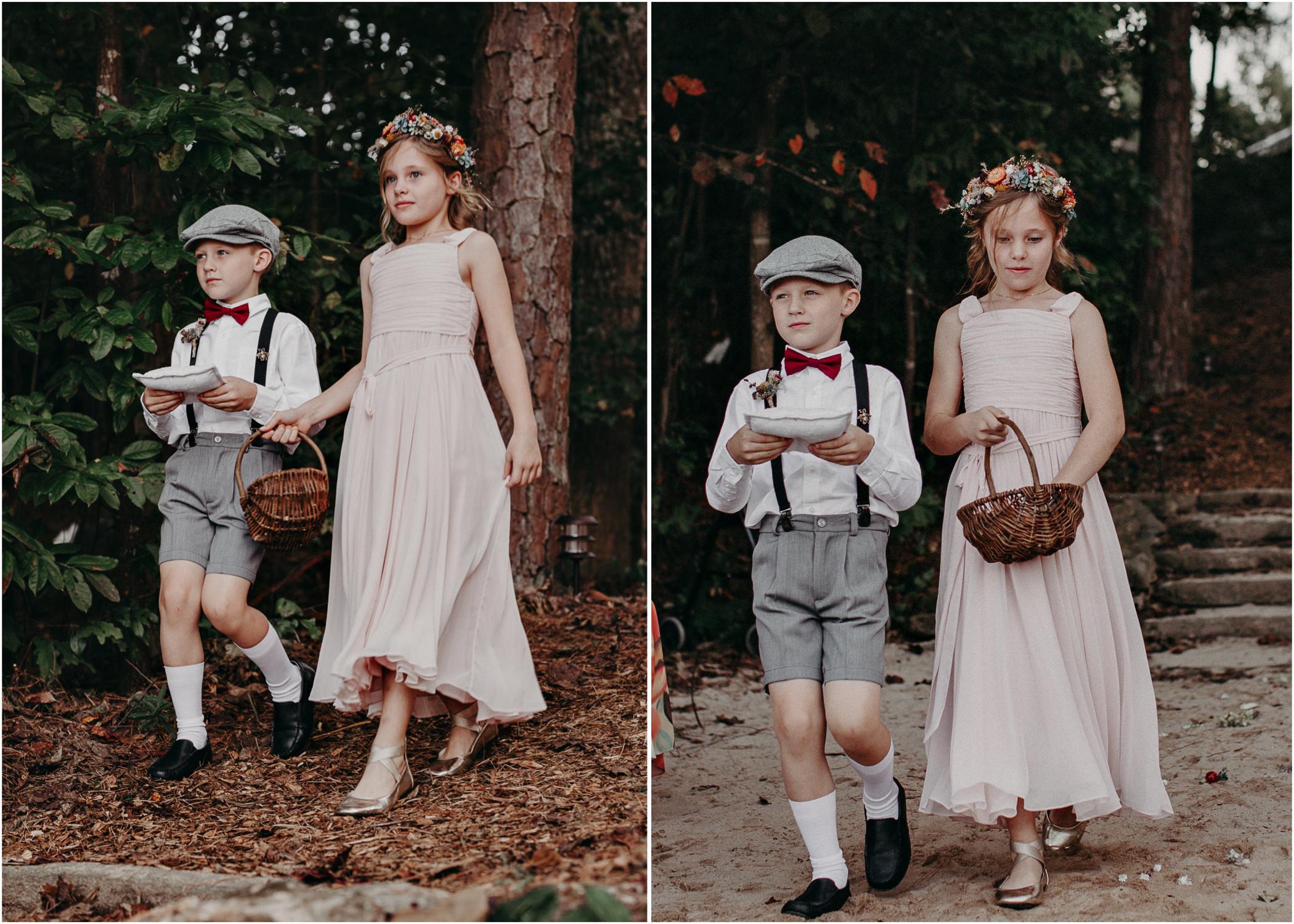 93 - Flower girl and ring bearer - Wedding Ceremony - Destination Wedding : Beach : Lake Wedding Atlanta Wedding Photographer .jpg
