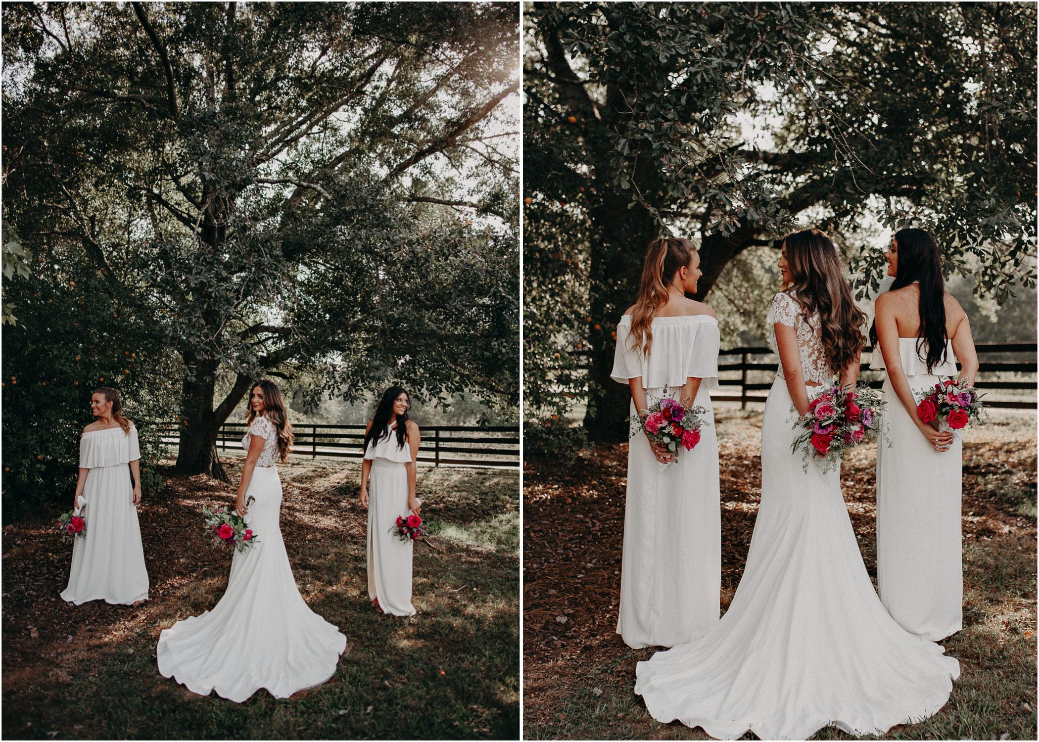 45 - wedding dress, bridesmaids, bouquet - bride getting ready wedding seranbi farms atlanta .jpg