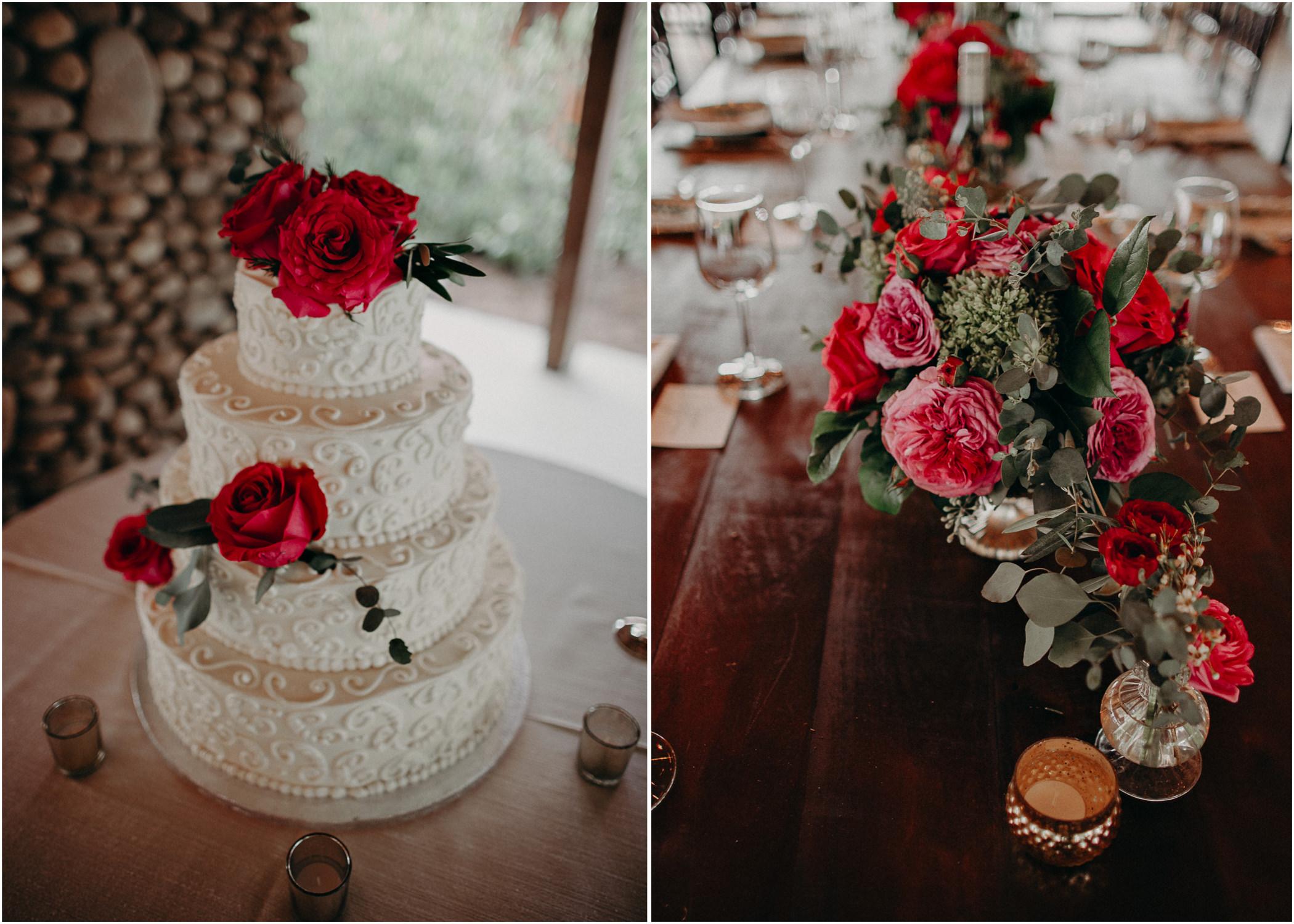 55 - details, cake, flowers, wedding dress, bridesmaids, bouquet - bride getting ready wedding seranbi farms atlanta .jpg