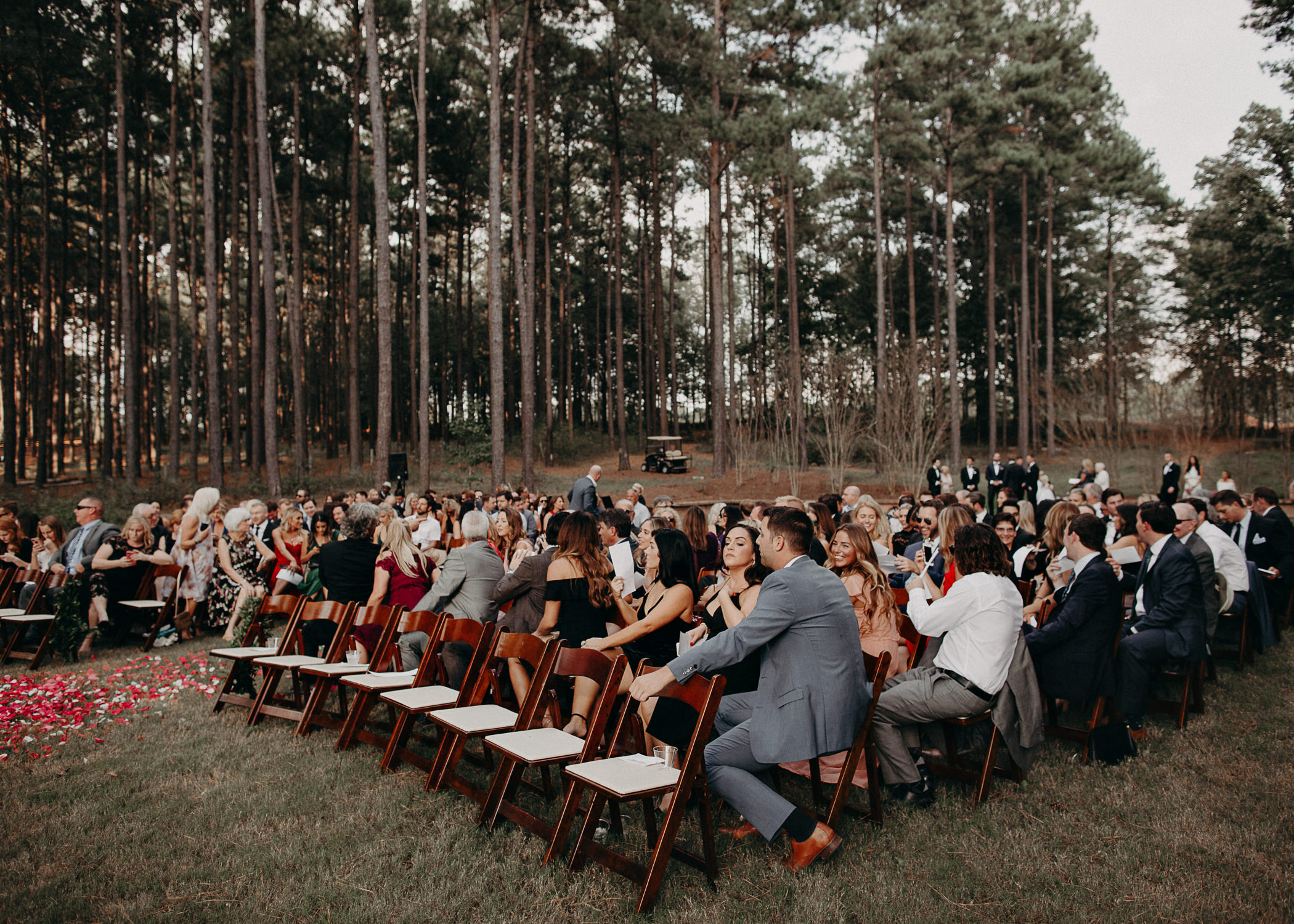 56 - Ceremony, details, cake, flowers, wedding dress, bridesmaids, bouquet - bride getting ready wedding seranbi farms atlanta .jpg