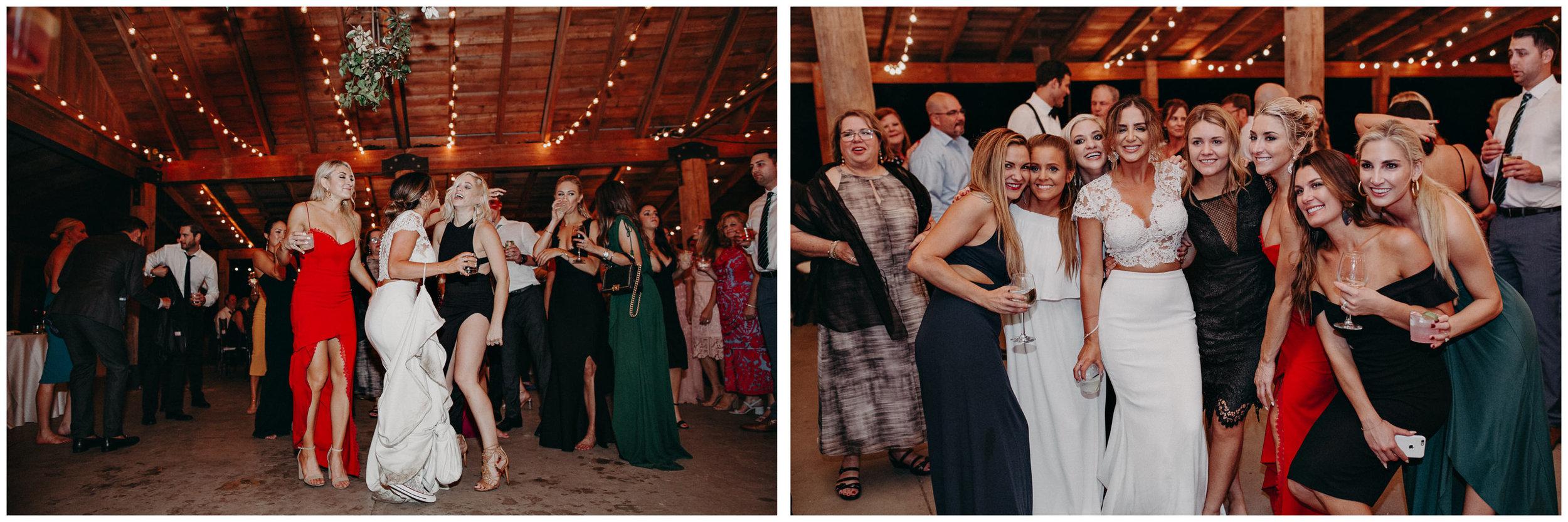 148 - Fun Wedding Reception, Bride in sneakers at serenbi farms atlanta .jpg