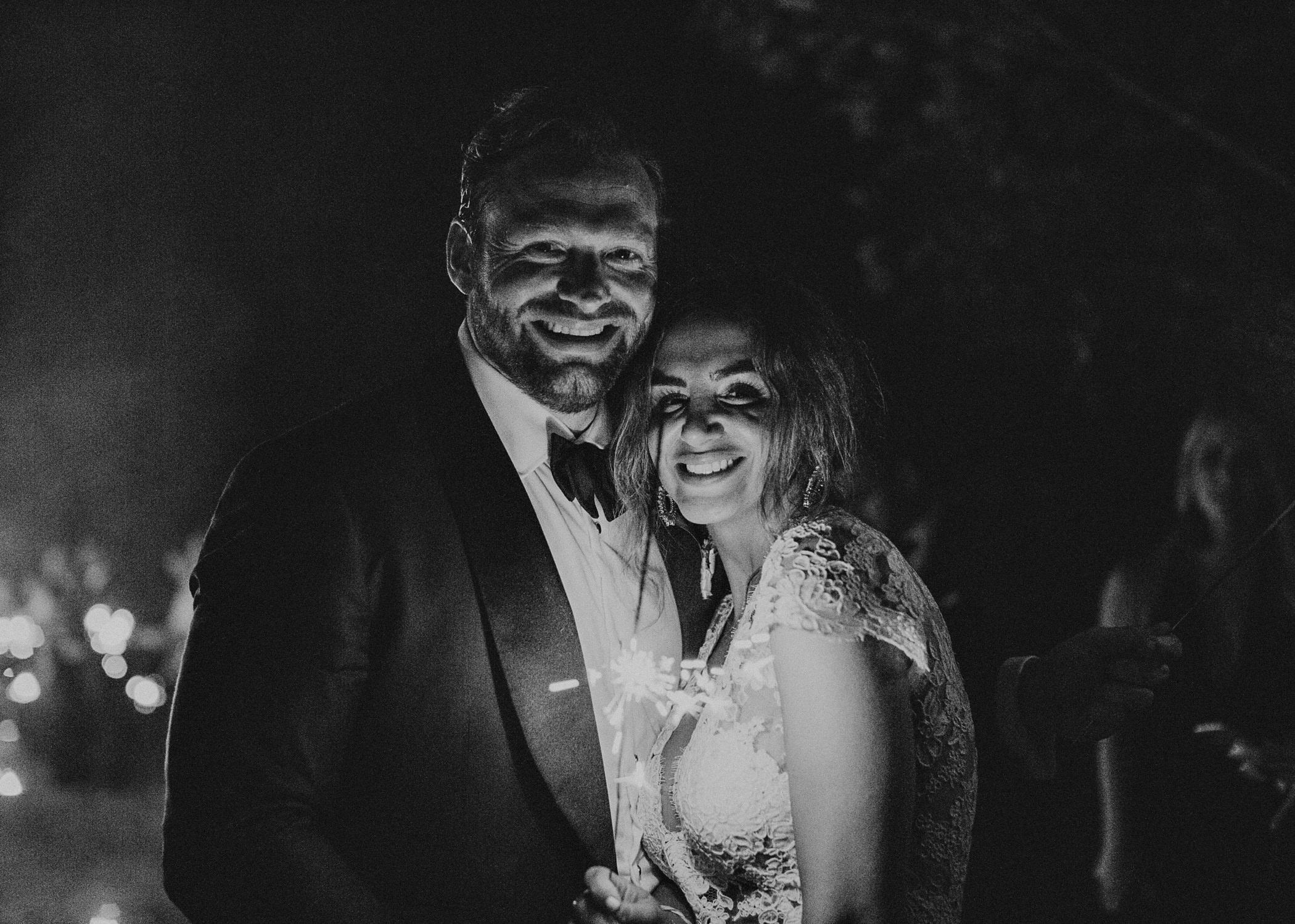 152 - Fun Wedding Reception, Sparklers exit, Bride in sneakers at serenbi farms atlanta .jpg