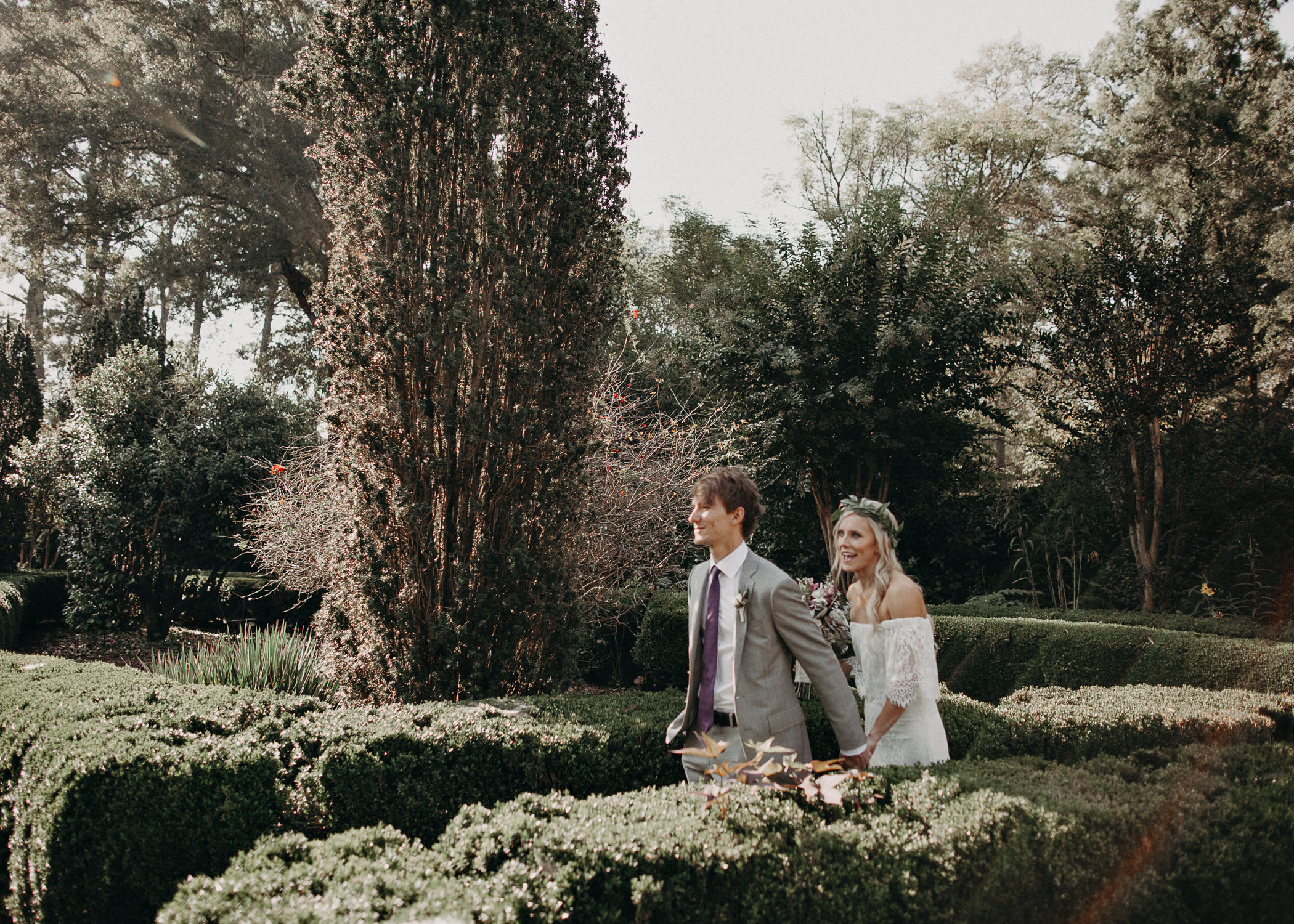 20 - Barnsley Gardens Wedding - Bride portraits - First Look .jpg