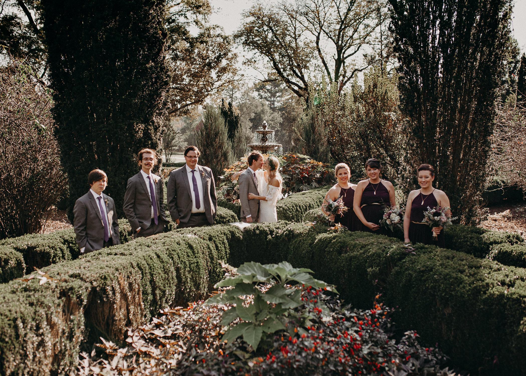 30 - Barnsley Gardens Wedding - Bride portraits - First Look .jpg