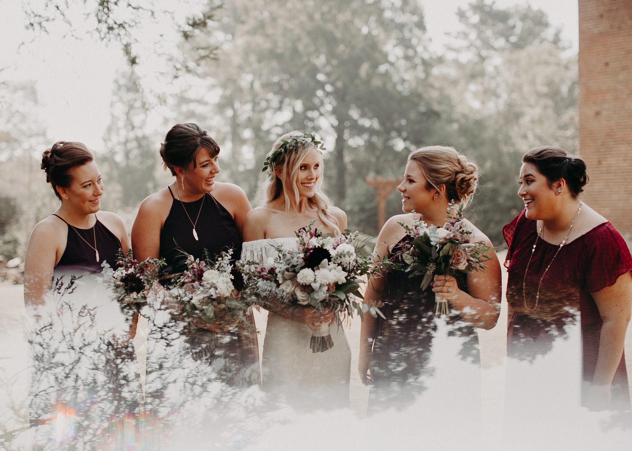 38 - Barnsley Gardens Wedding - Wedding Party portraits - First Look .jpg