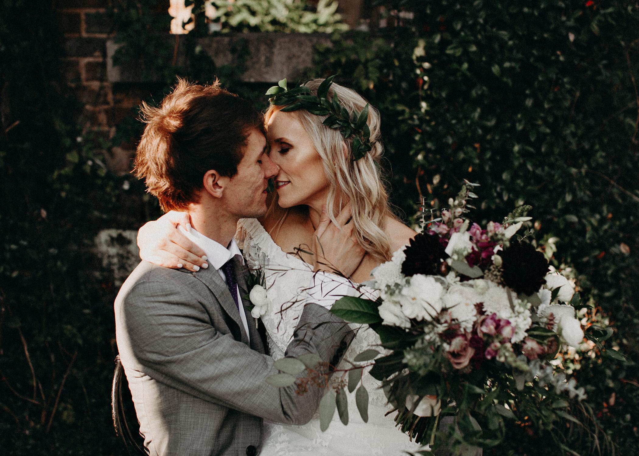 50 - Barnsley Gardens Wedding - Bride & Groom Portraits - Wedding Party portraits - First Look .jpg