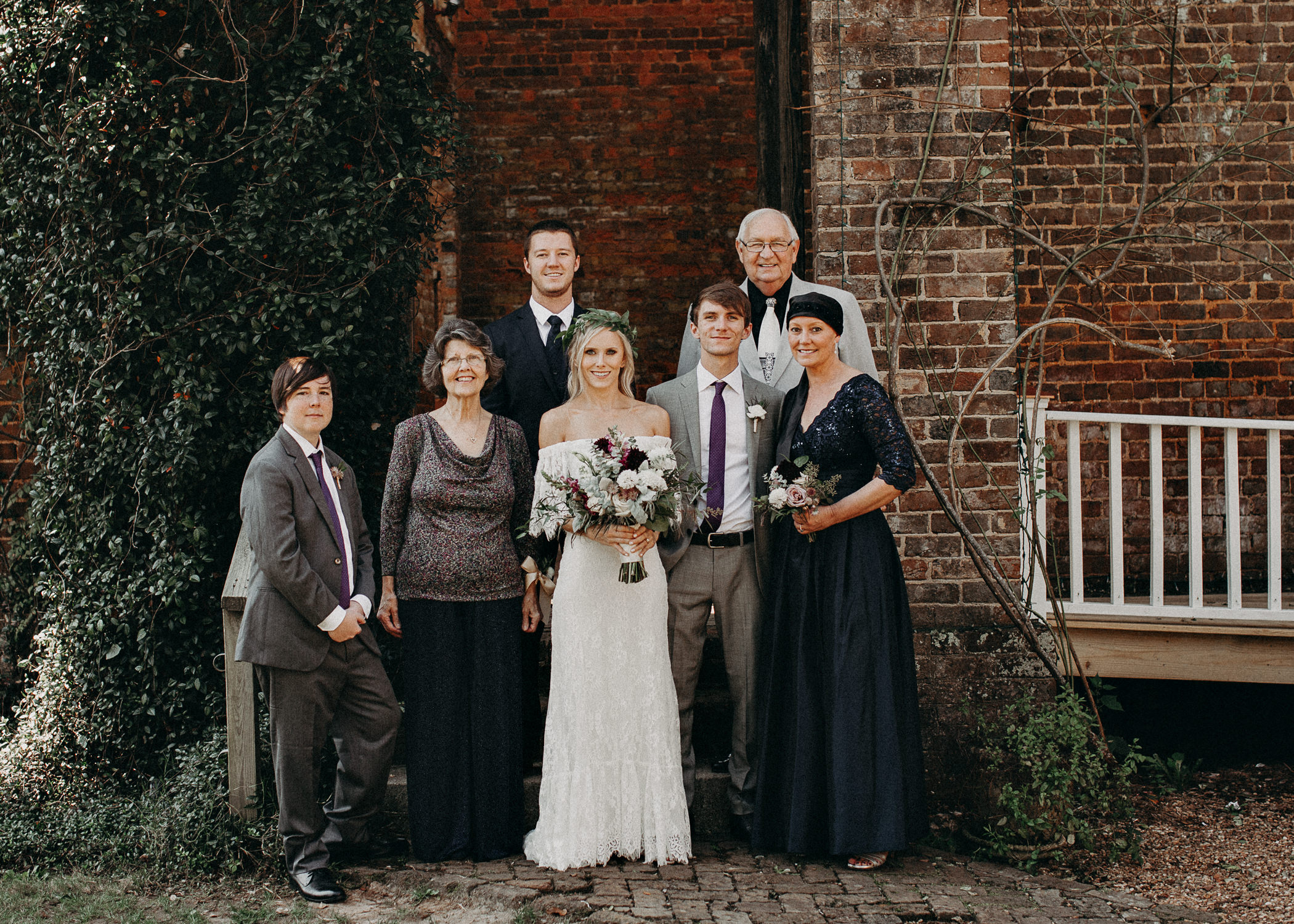 57 - Barnsley Gardens Wedding - Groom Portraits - Wedding Party portraits - First Look .jpg