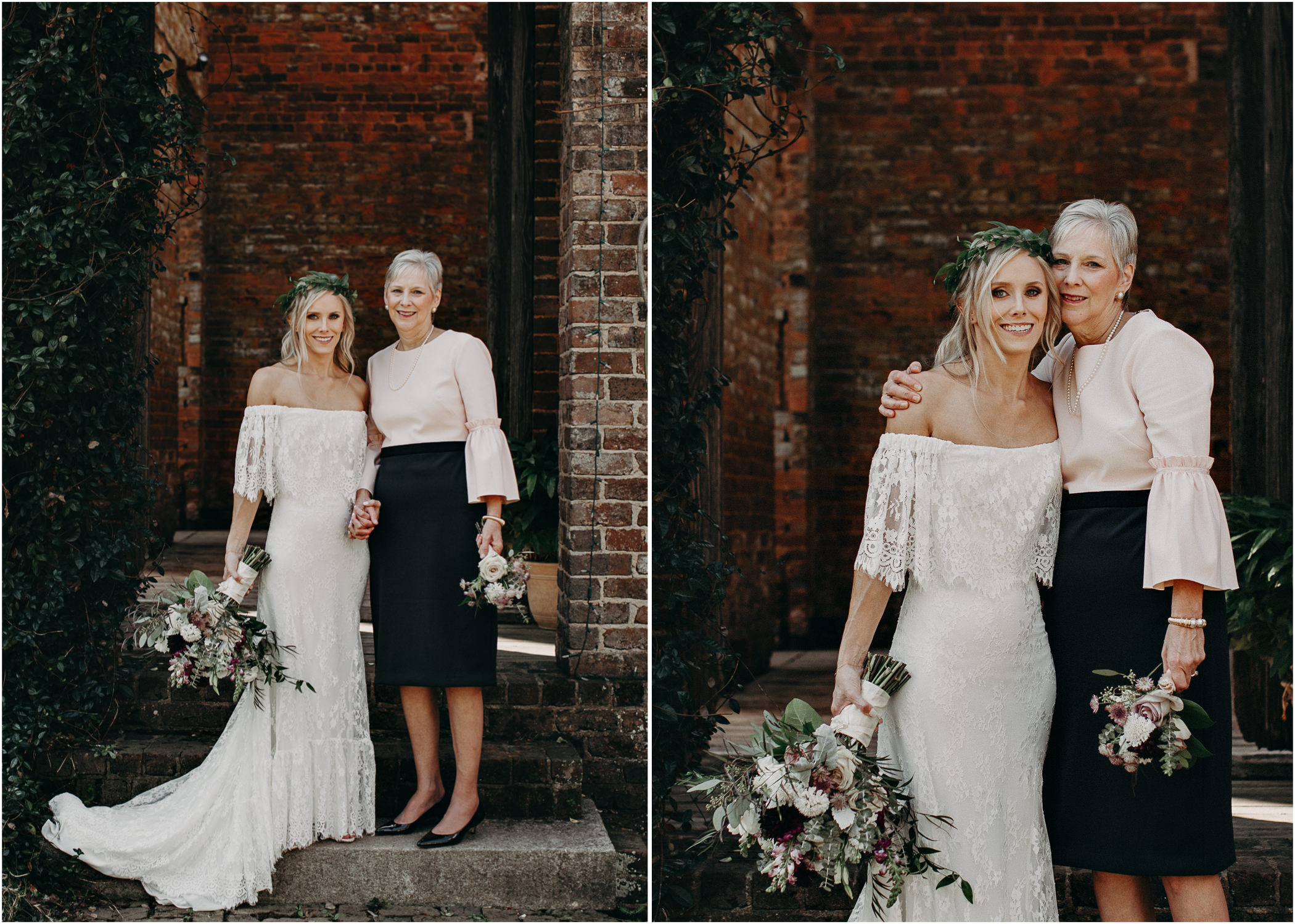 59 - Barnsley Gardens Wedding - Family Portraits - Wedding Party portraits - First Look .jpg
