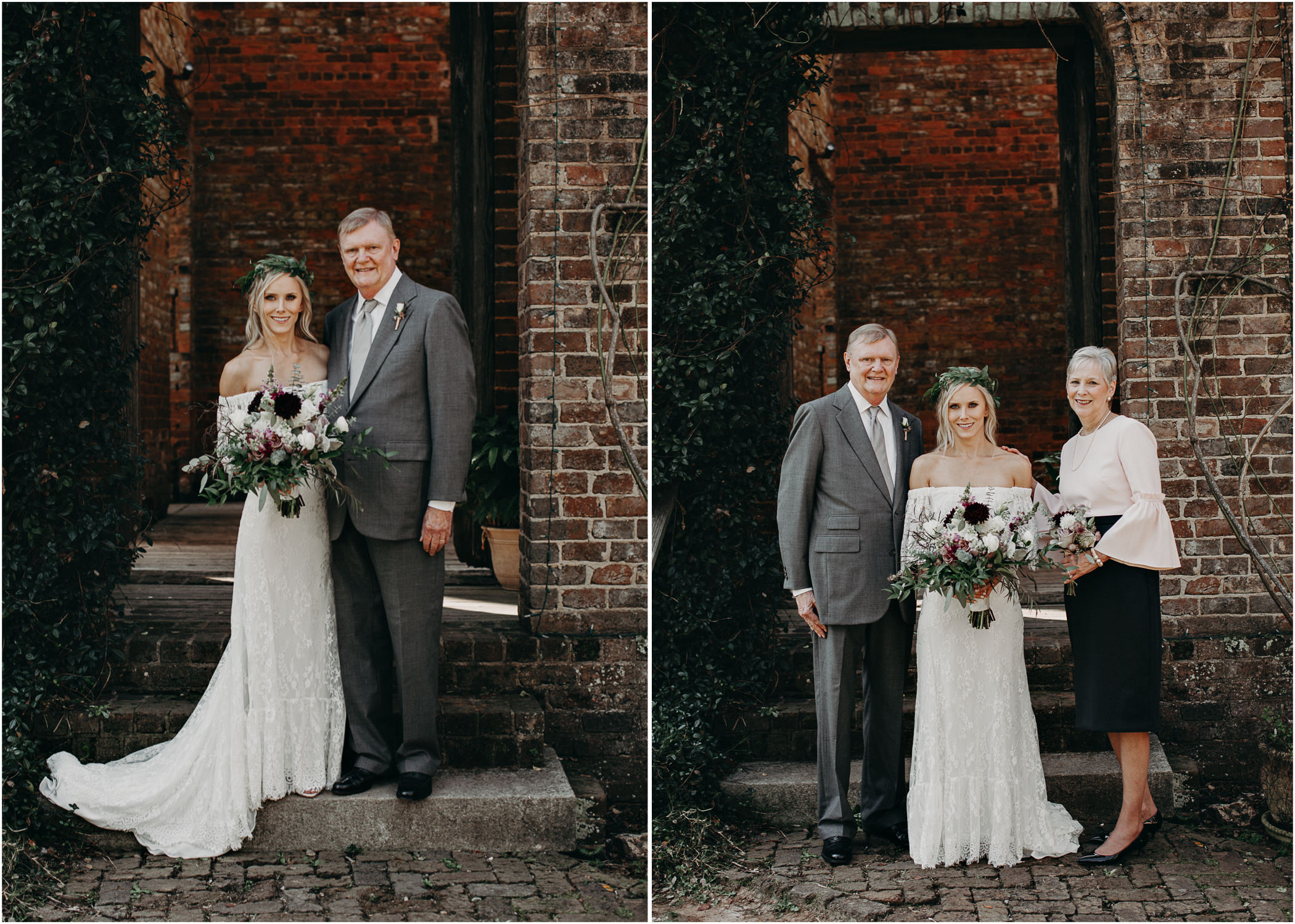 60 - Barnsley Gardens Wedding - Family Portraits - Wedding Party portraits - First Look .jpg