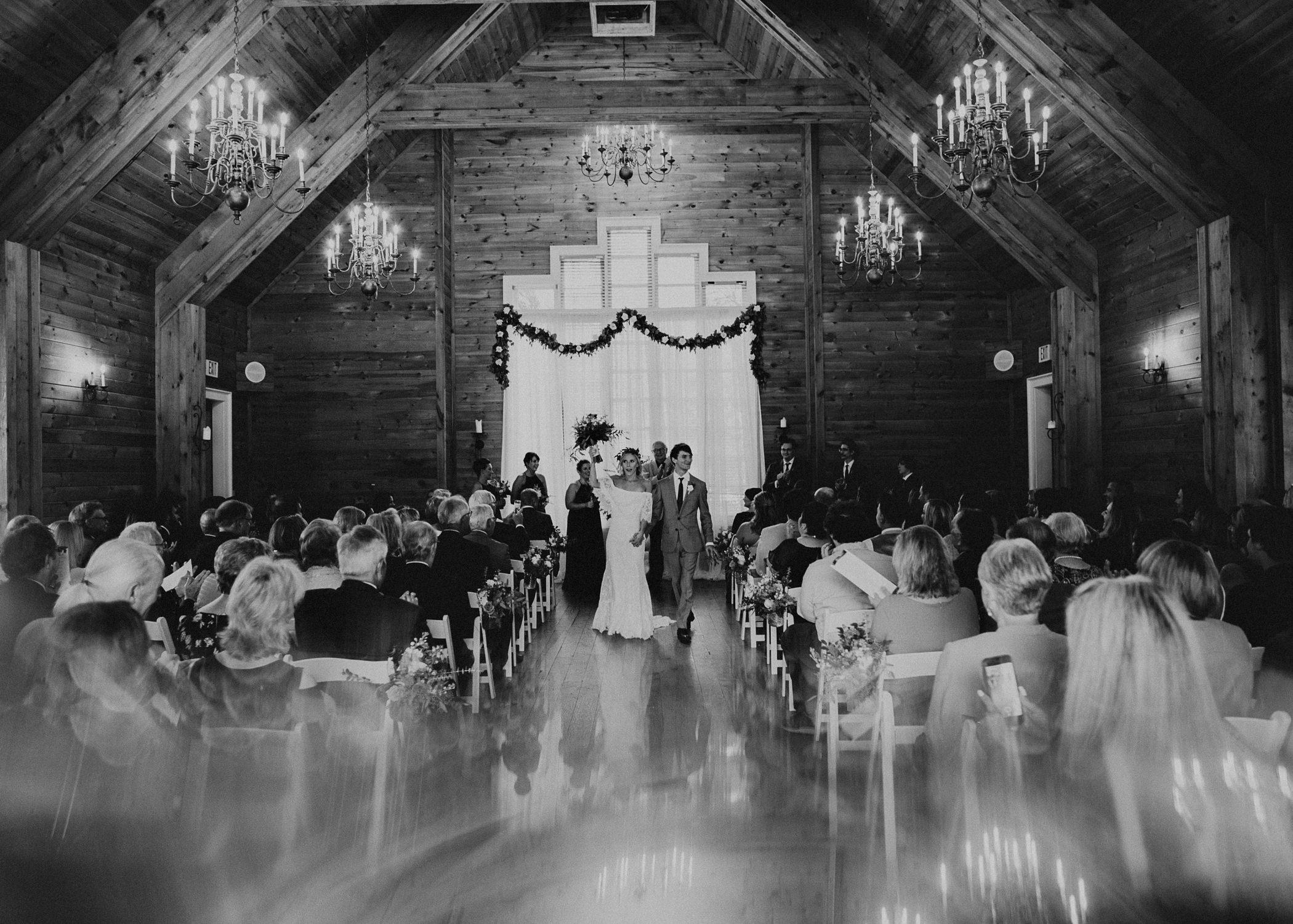 76 - Barnsley Gardens Wedding Ceremony Chapel : First Kiss - Atlanta wedding photographer .jpg