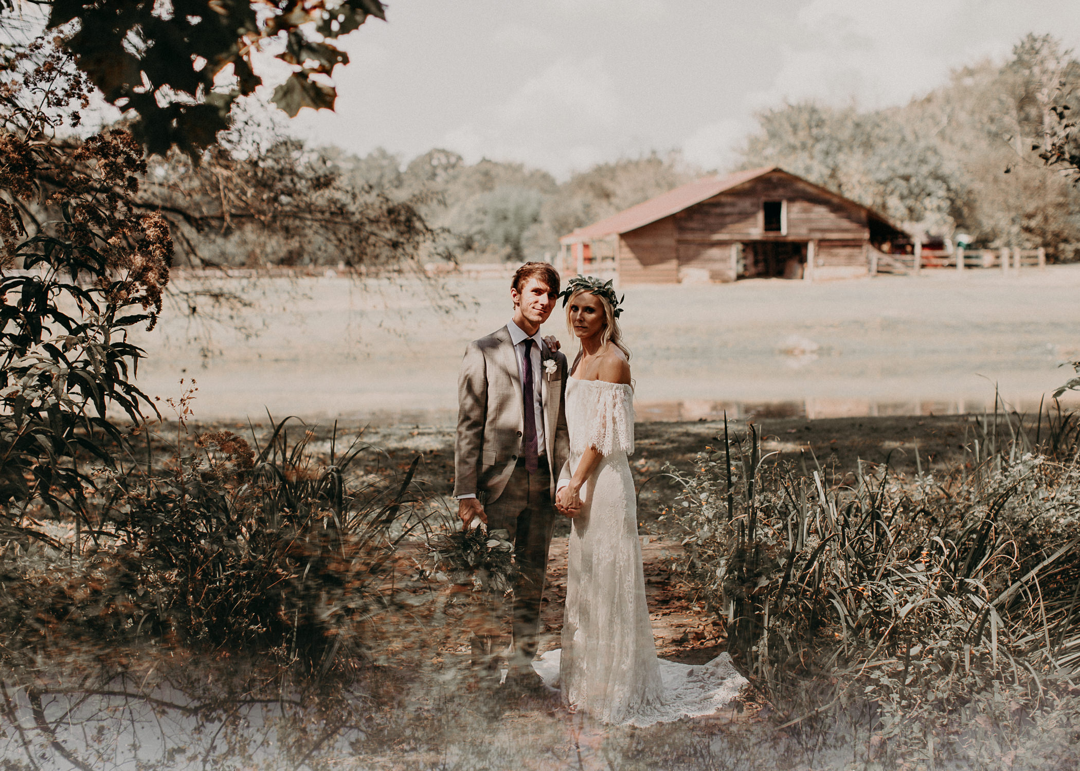 83 - Barnsley Gardens Wedding -Bride and groom portraits - Atlanta wedding photographer .jpg