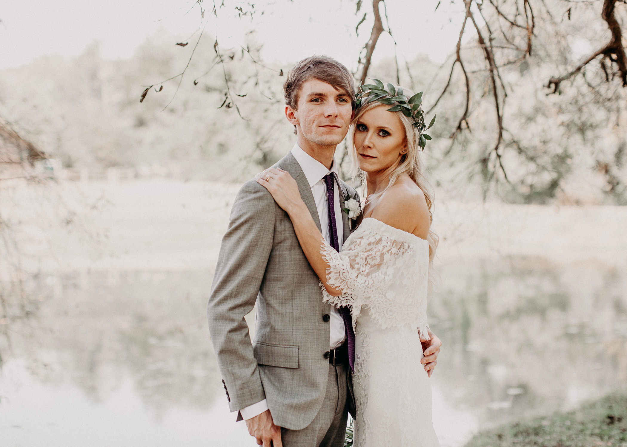 87 - Barnsley Gardens Wedding -Bride and groom portraits - Atlanta wedding photographer .jpg