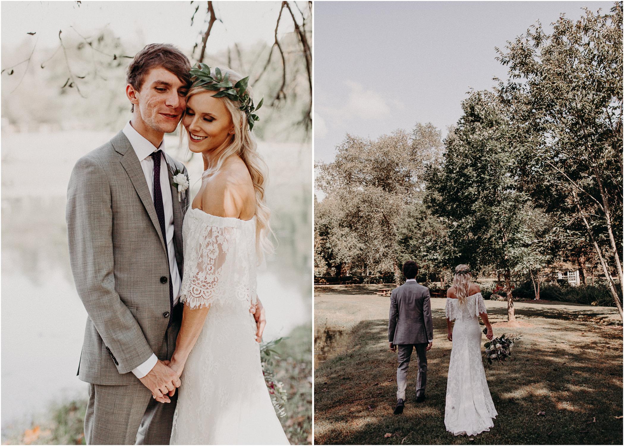 88 - Barnsley Gardens Wedding -Bride and groom portraits - Atlanta wedding photographer .jpg