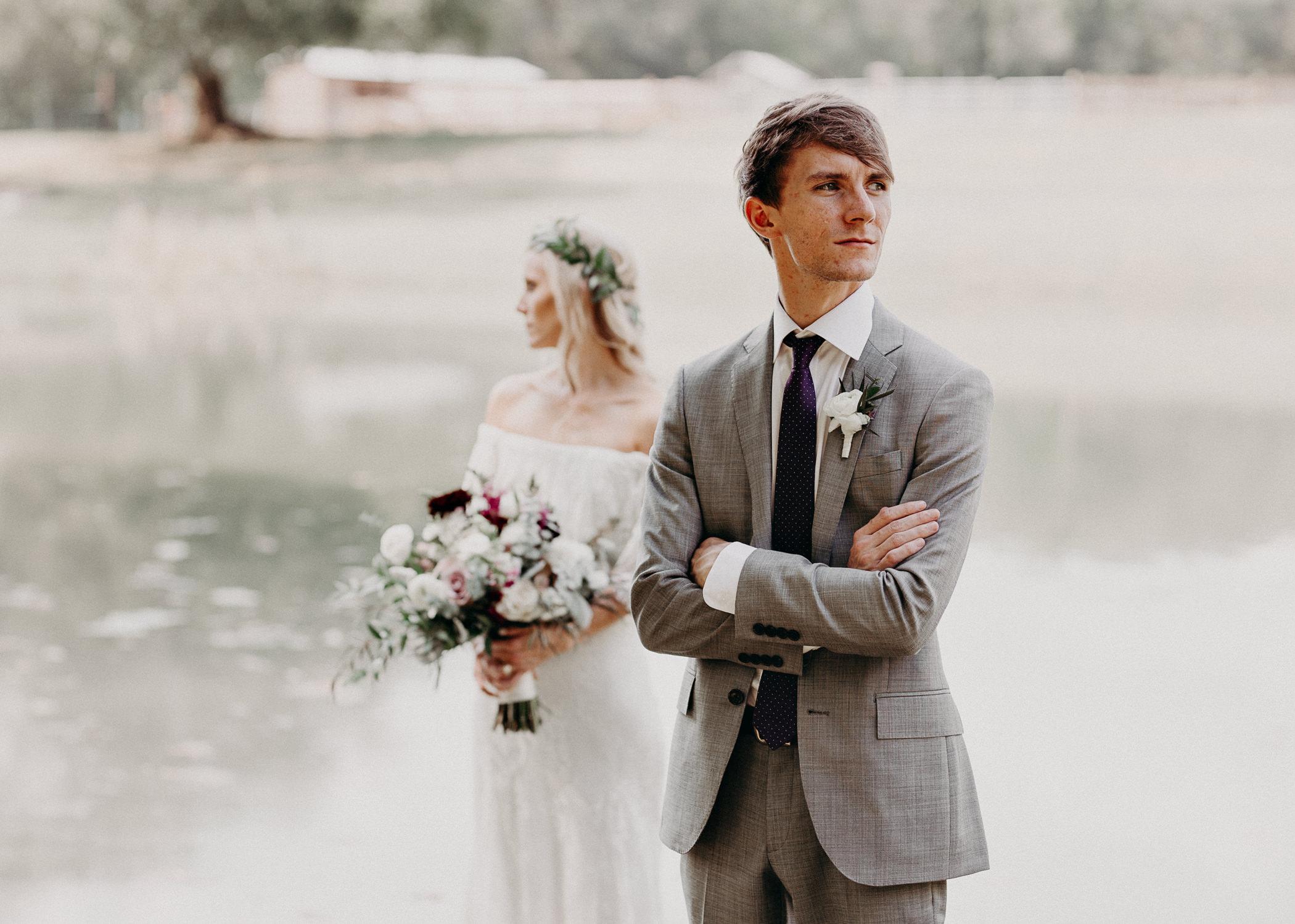 95 - Barnsley Gardens Wedding -Bride and groom portraits - Atlanta wedding photographer .jpg