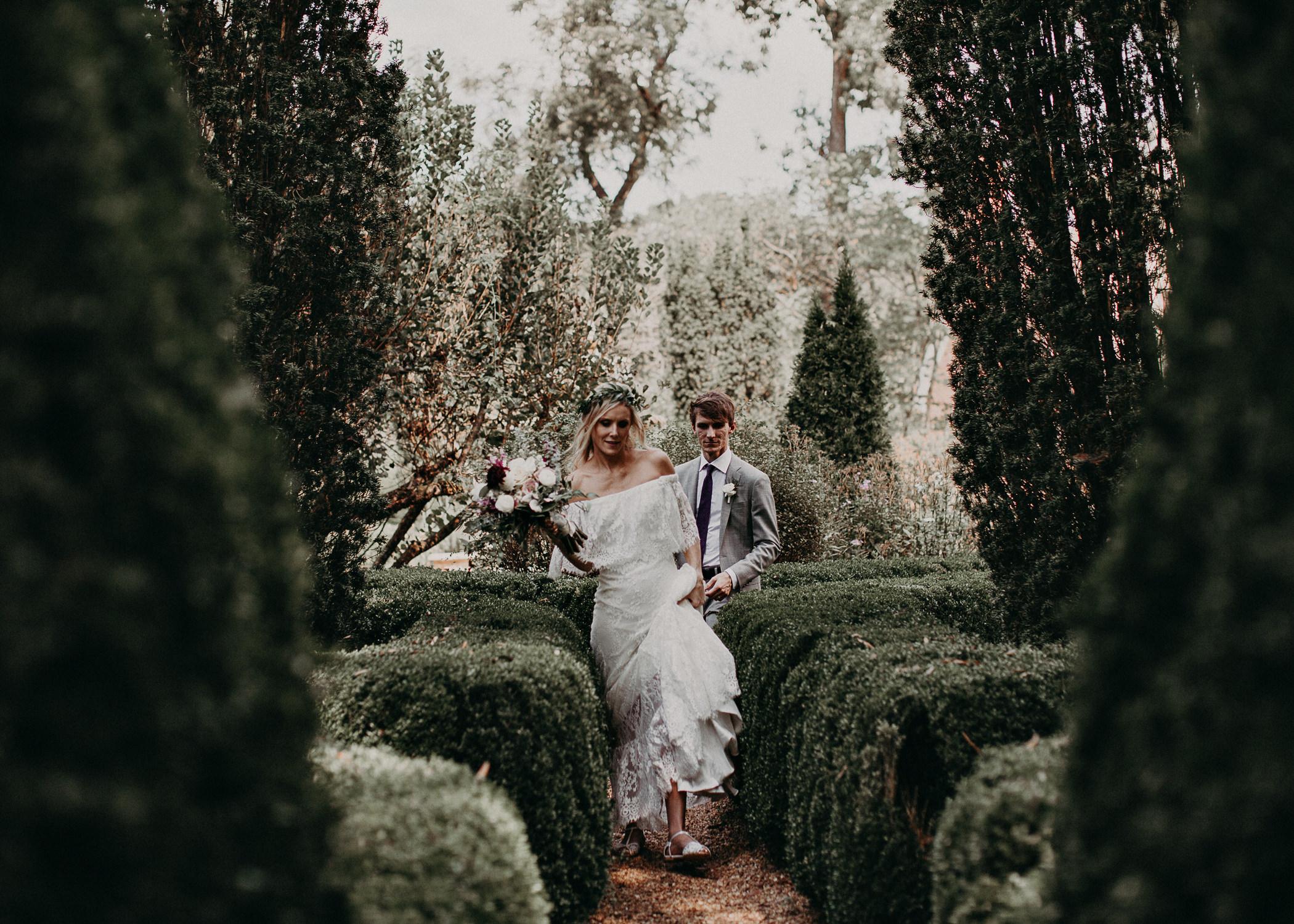 103 - Barnsley Gardens Wedding -Bride and groom portraits - Atlanta wedding photographer .jpg