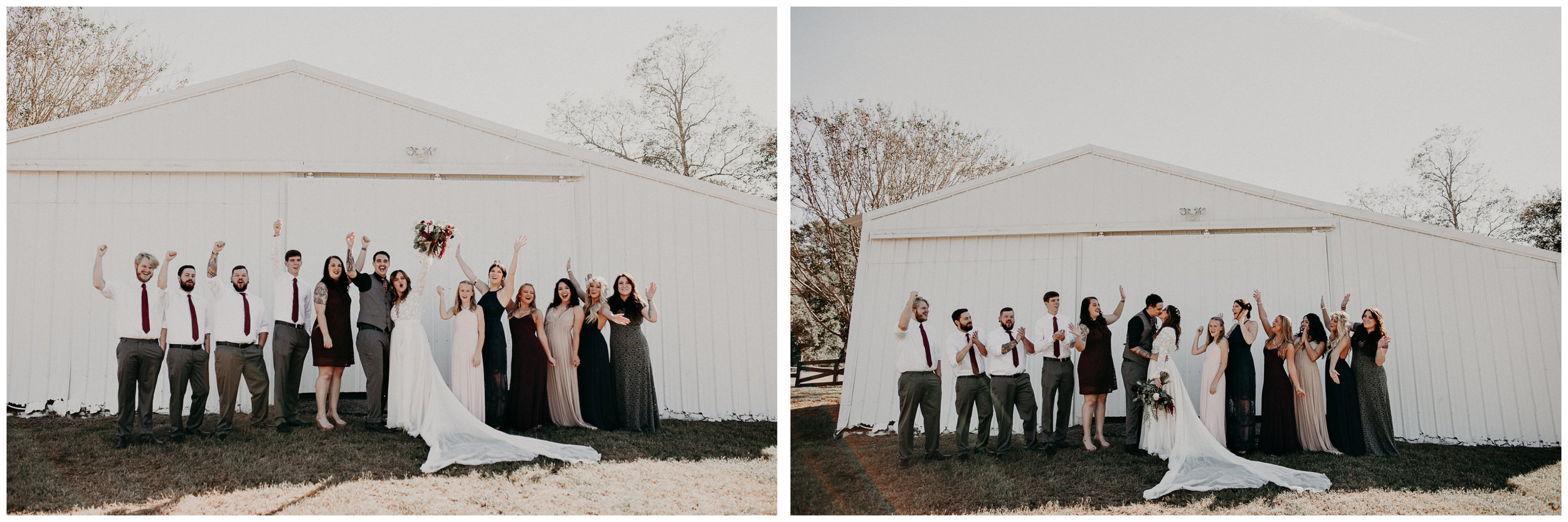 80 - Wedding bridal party and bride and groom portraits : Atlanta wedding photographer .jpg