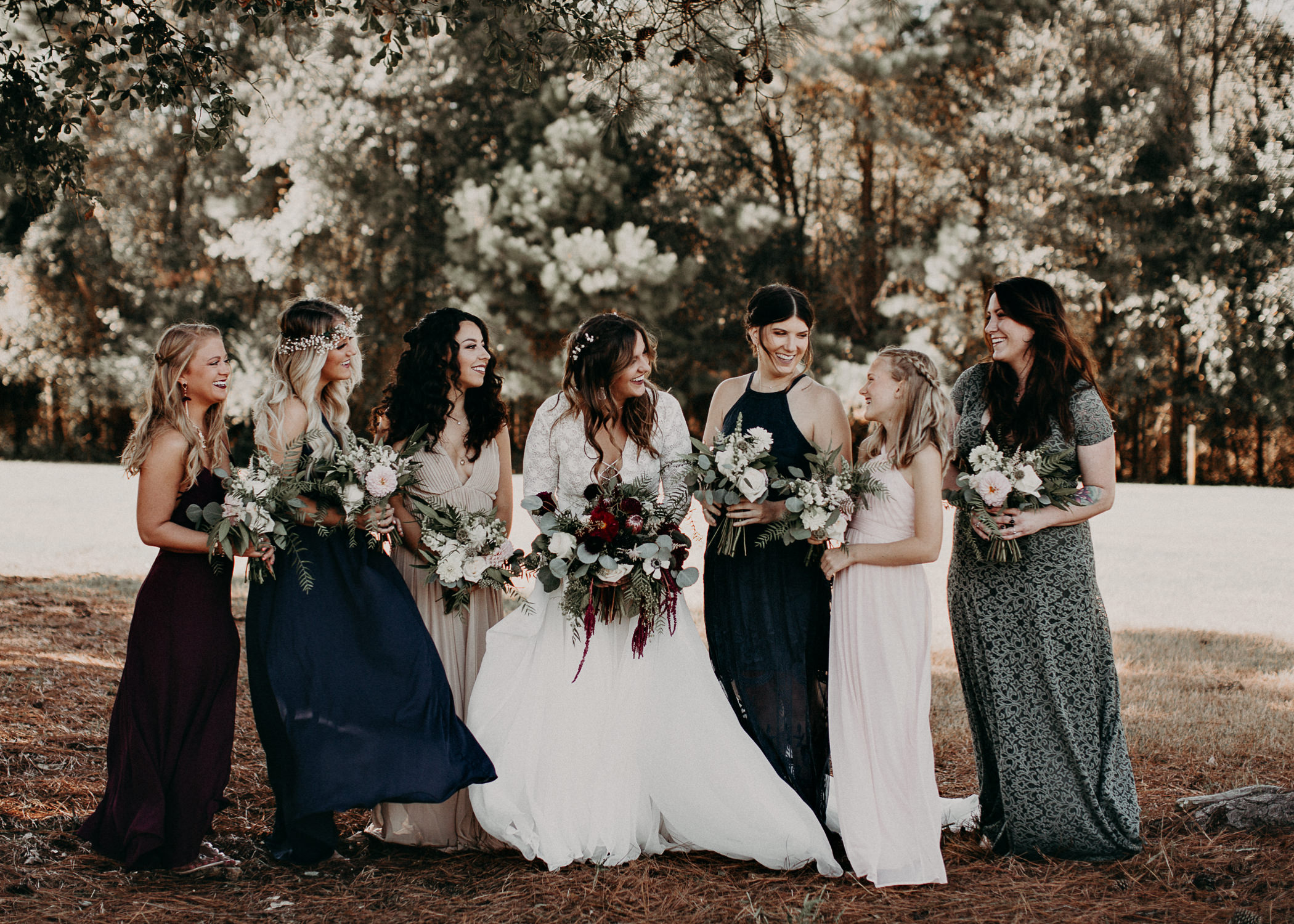 84 - Wedding bride and bridesmaids portraits : Atlanta wedding photographer .jpg