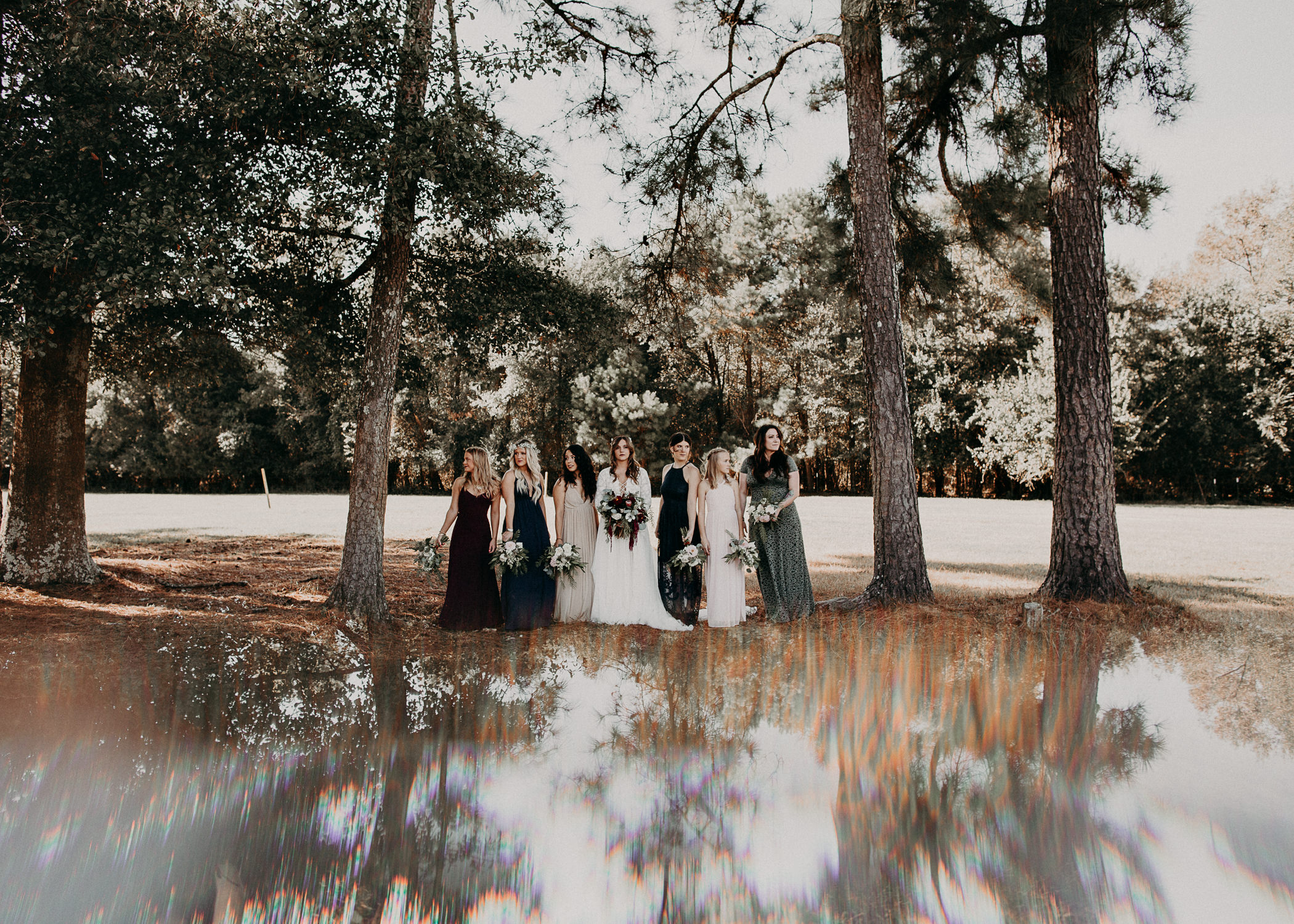 86 - Wedding bride and bridesmaids portraits : Atlanta wedding photographer .jpg
