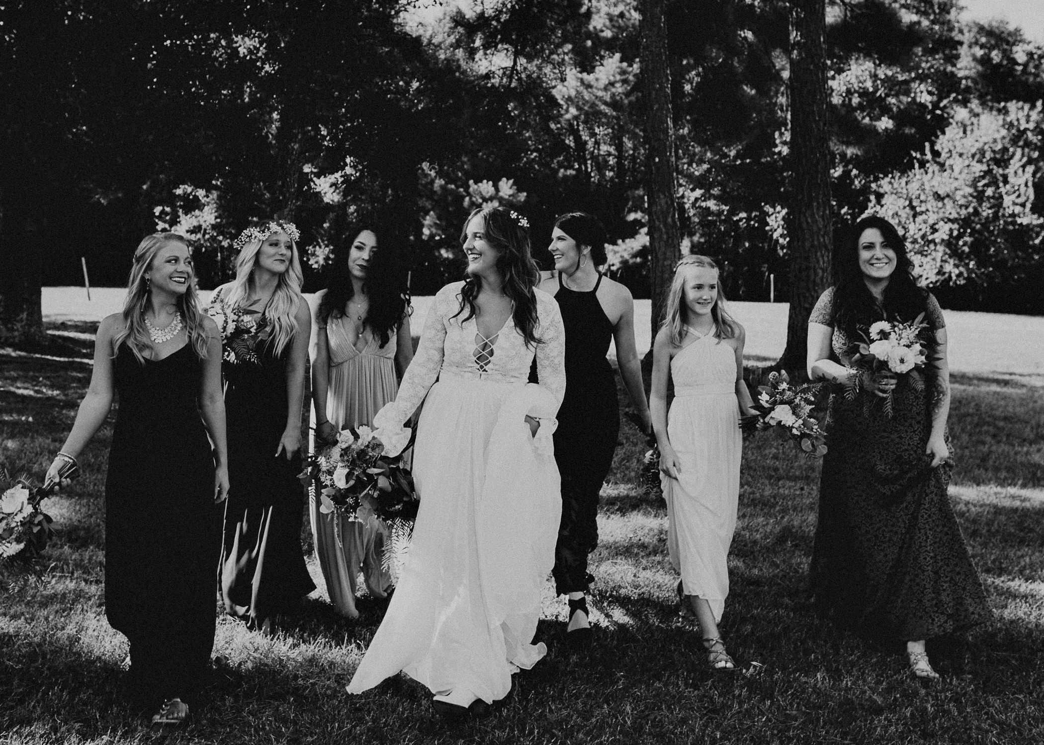 88 - Wedding bride and bridesmaids portraits : Atlanta wedding photographer .jpg