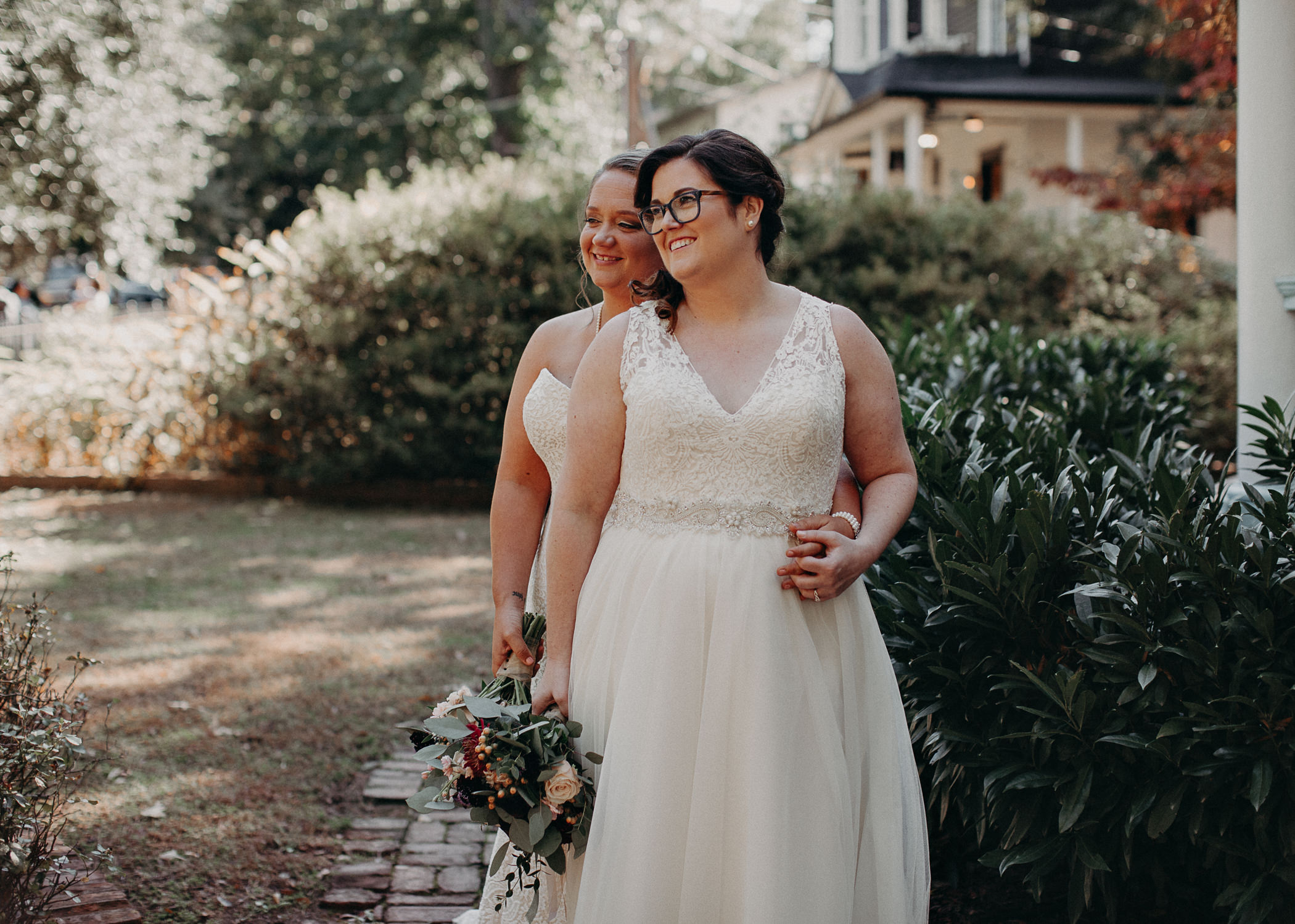 34 - Atlanta wedding photographer - Same sex wedding - wedding dress - details - ceremony - reception - bridal party - two brides. Aline Marin Photography .jpg.JPG
