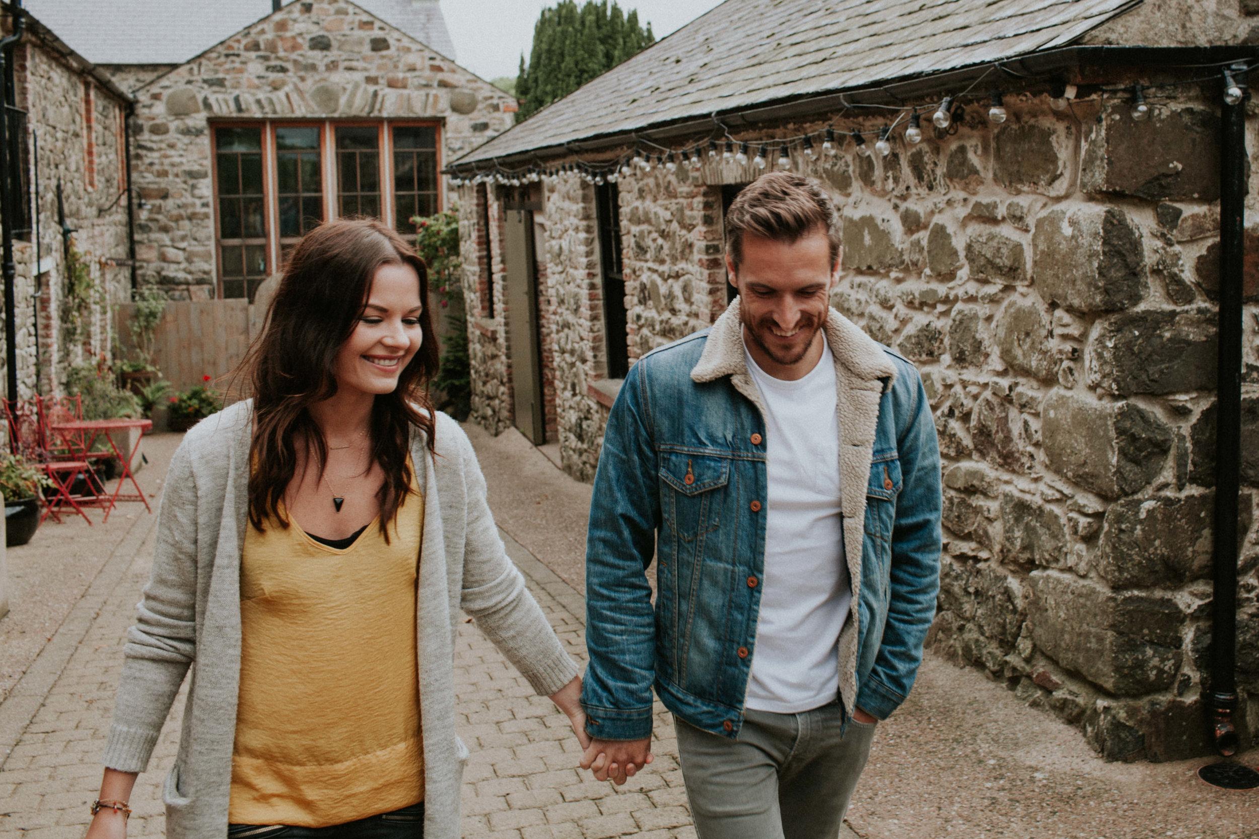 Couple Shoot at Alternate Irish Wedding Venue Limepark