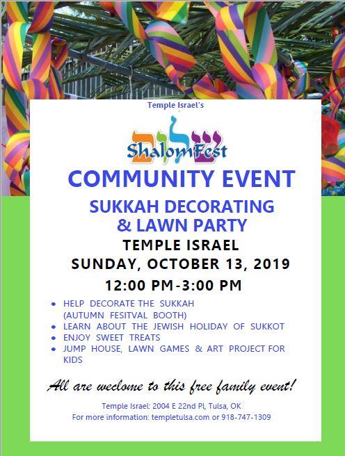 ShalomFest Sukkot Decorating 2019.JPG