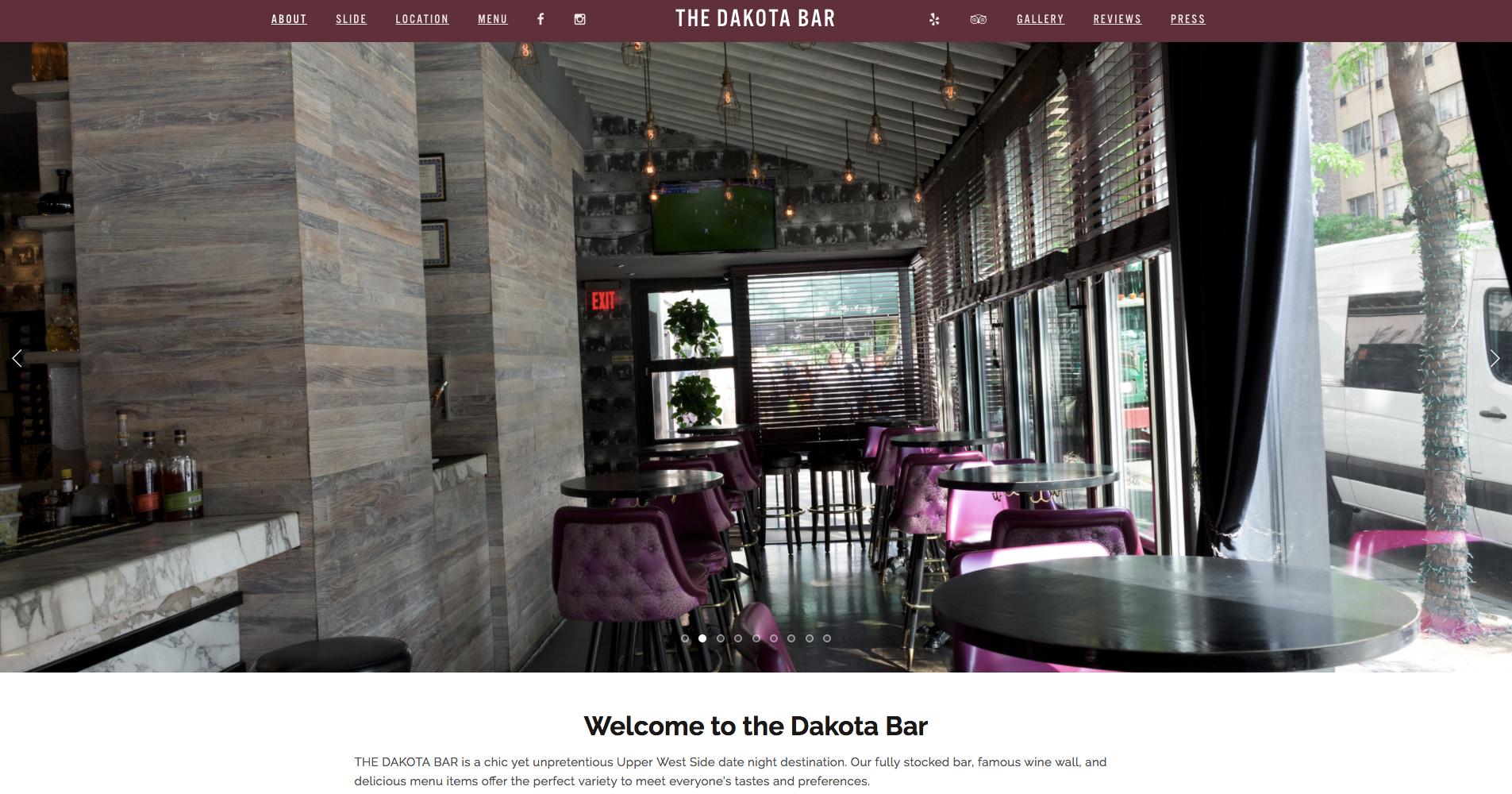 The Dakota Bar -