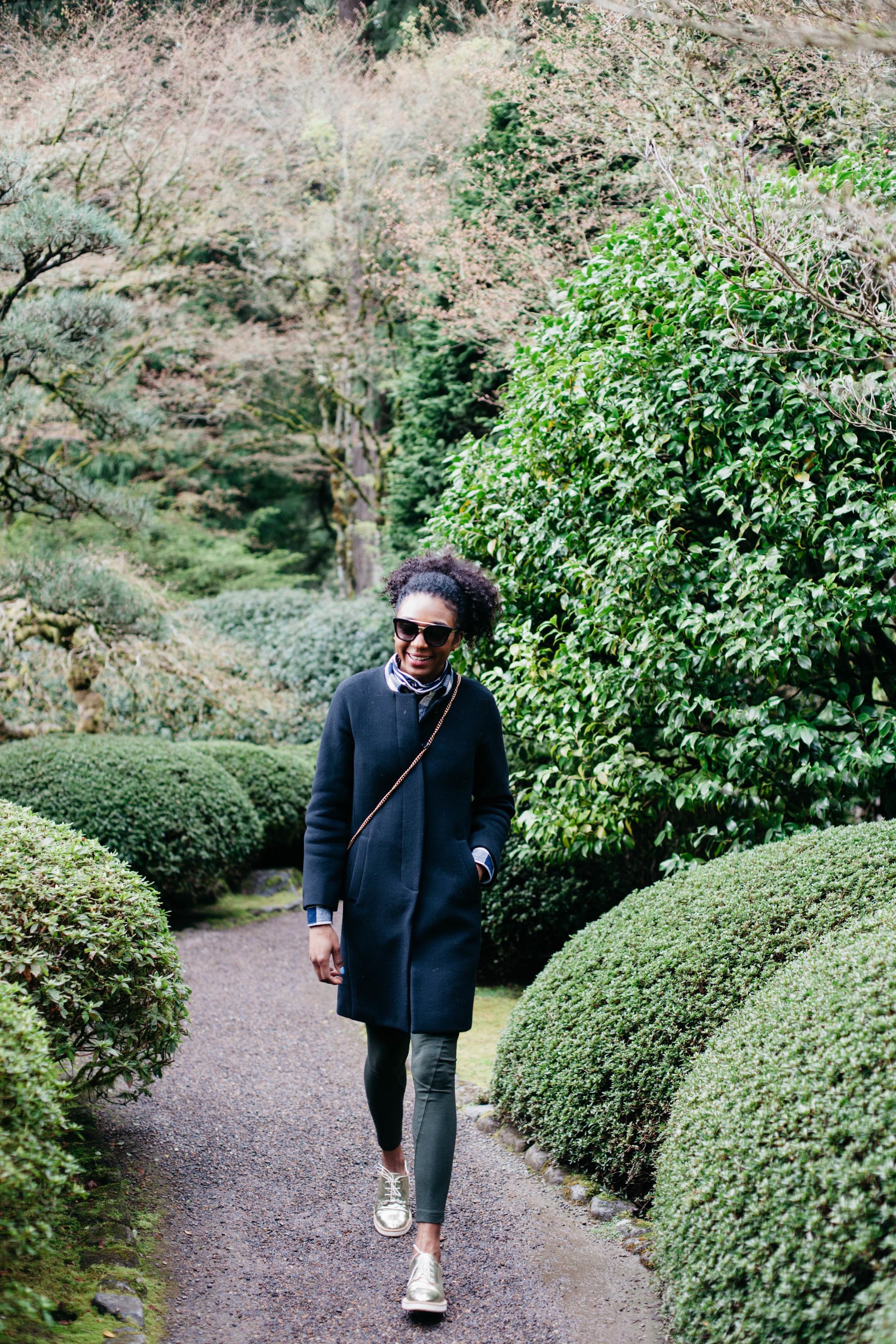 Exploring Portland's Japanese Garden :)