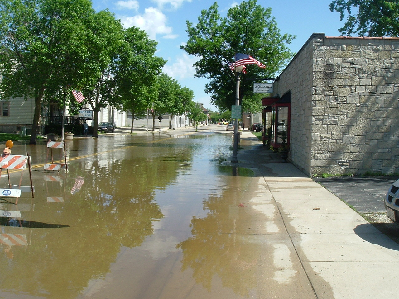 Flooding in Wisconsin