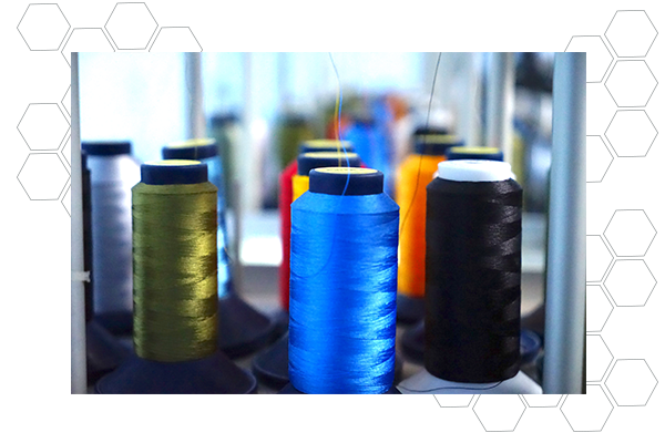 OUR RAINBOWS ARE ON SPOOLS - GraphicLab Promotional Products uses only the best high-quality rayon thread for our custom embroidery work. Rayon not only provides strength and longevity but non-fading, vibrant colors.There's a virtual rainbow of colors we have in stock, and can special order your specific color.