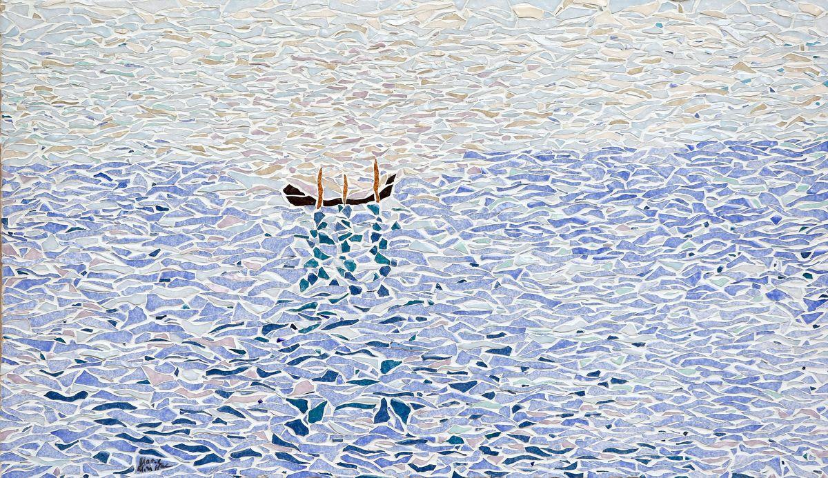 gondole en mer