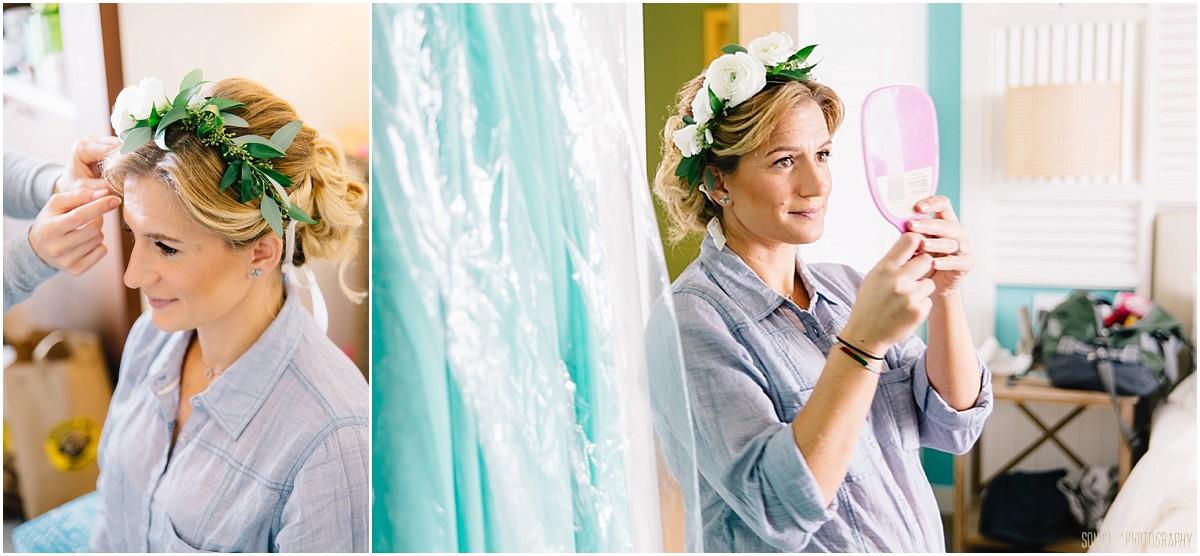 Wedding prep at Margaritaville Resort
