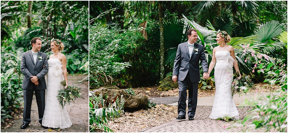 Wedding at Flamingo Gardens