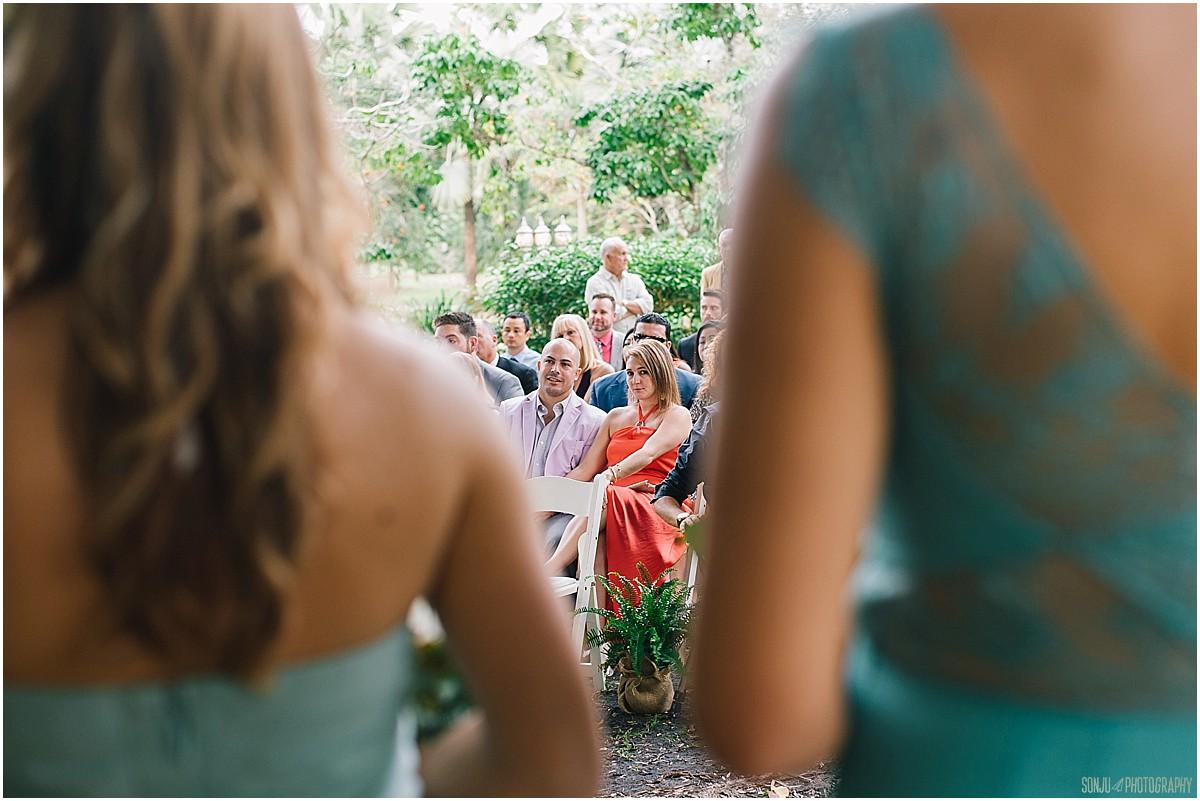 South Florida wedding photographer at Flamingo Gardens