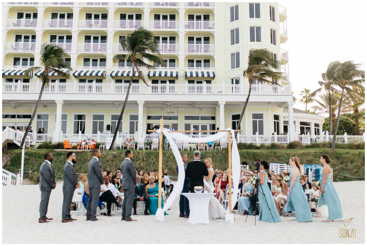 Unplugged ceremony - Fort Lauderdale Wedding Photographer