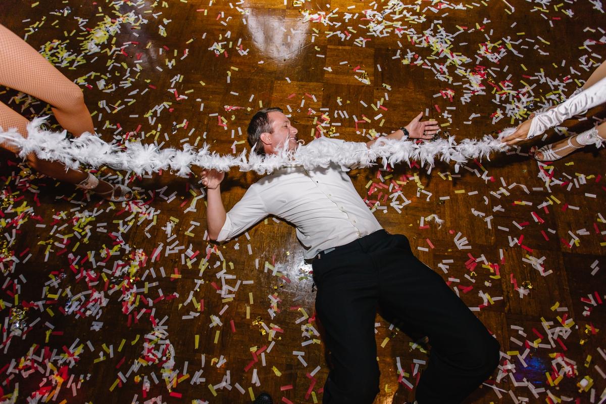 Groom on dance floor Signature Grand Hora Loca