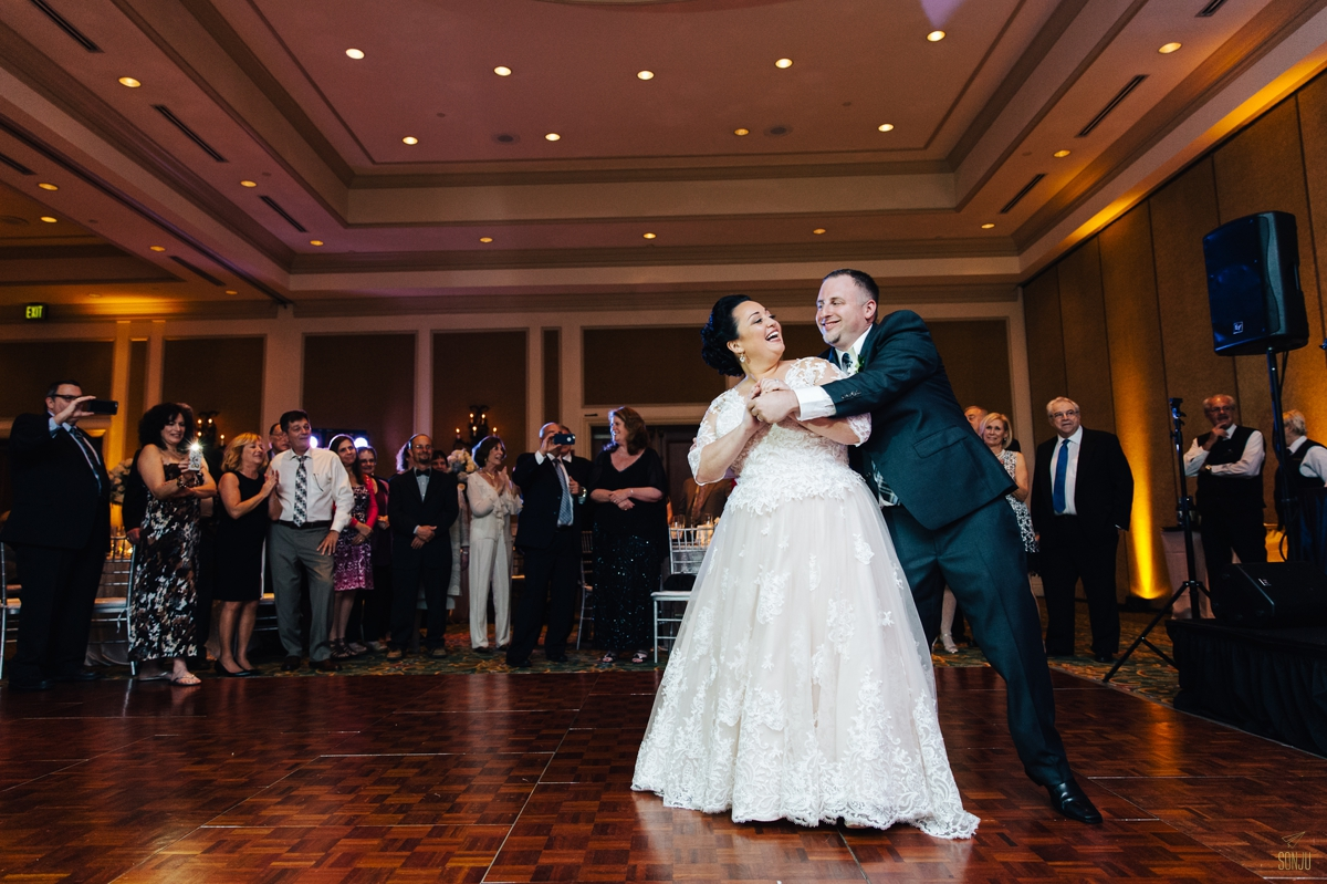 Delray Beach Marriott First Dance