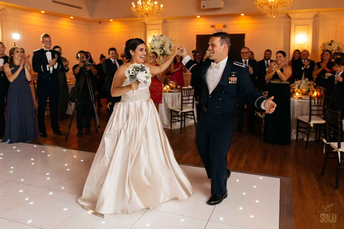 First Dance at Club of Knights Coral Gables Florida