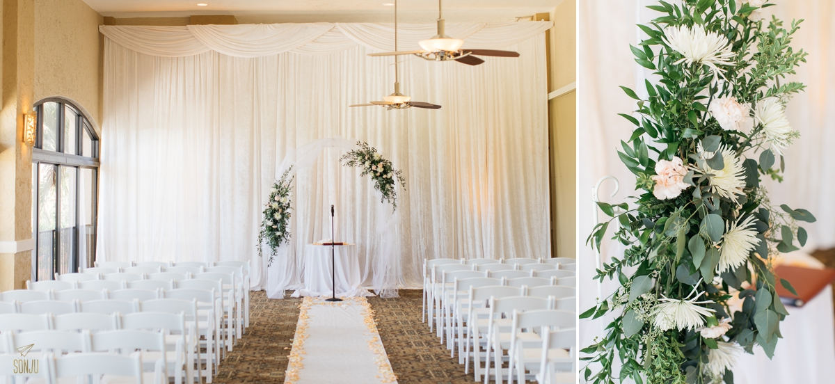 Wedding at Club of Boca Pointe Boca Raton