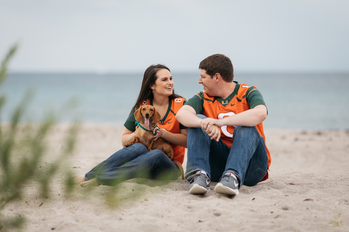 South Florida engagement and wedding photographer in Fort Lauderdale