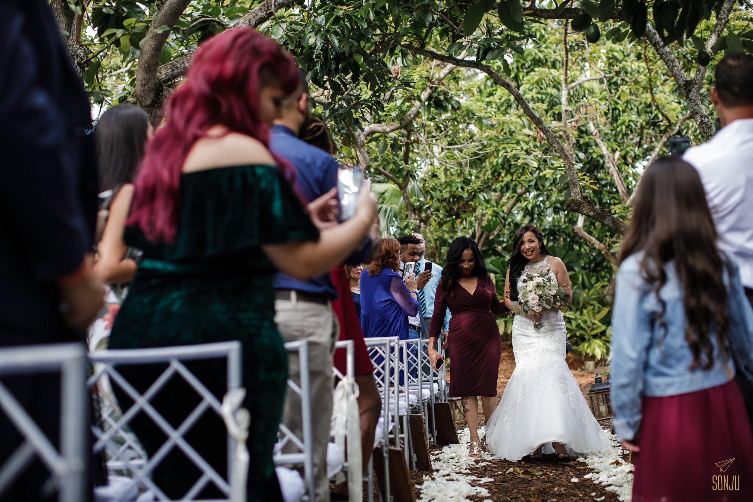 Wedding at The Old Grove