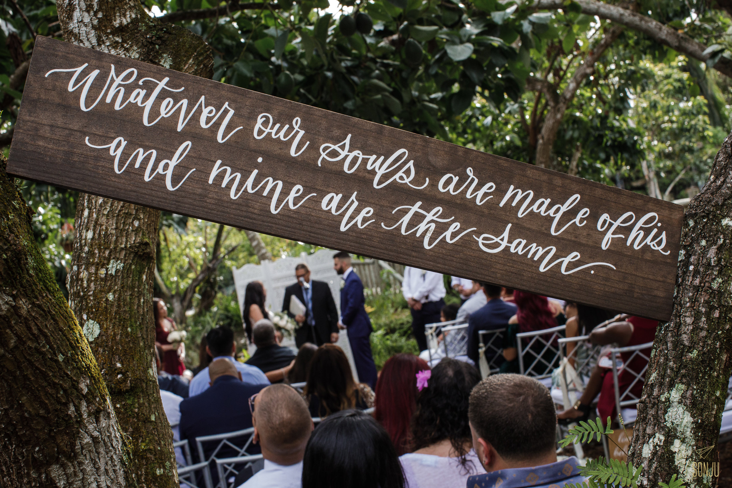 Wedding at the Old Grove, Miami